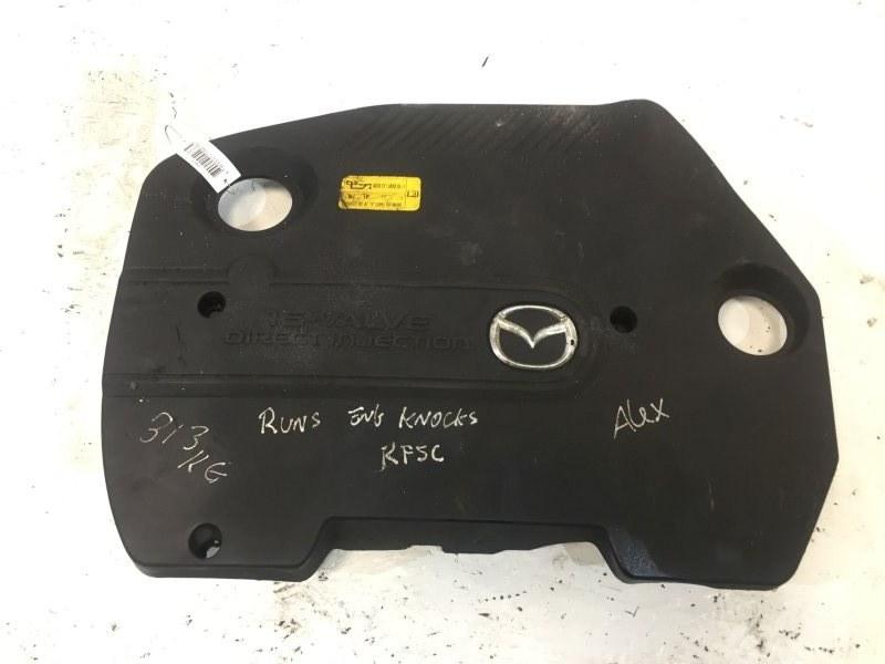 Декоративная крышка двигателя Mazda 6 2.0 TD 2005 (б/у)
