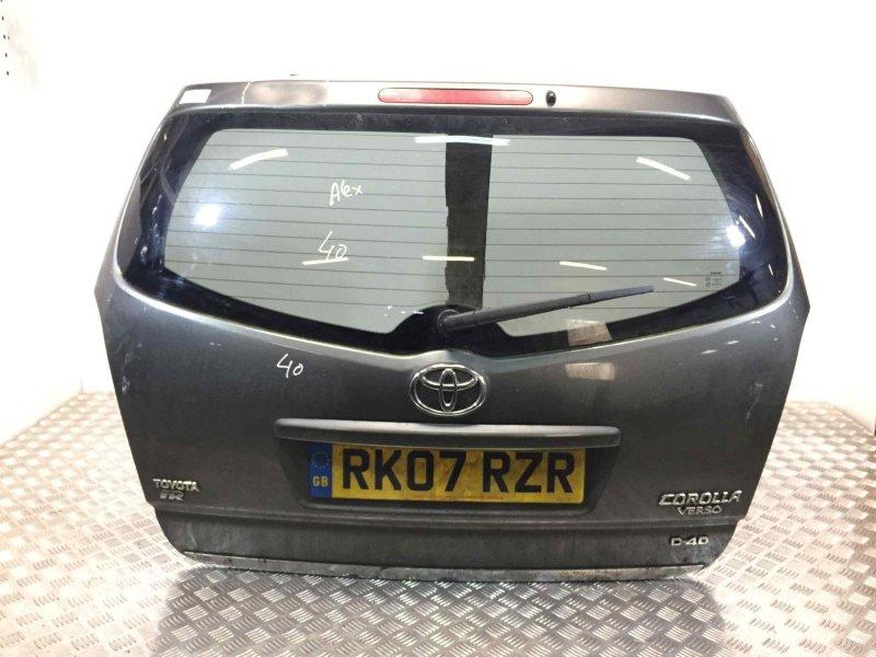 Крышка багажника (дверь 3-5) Toyota Corolla Verso 2.2 D-4D 2007 (б/у)