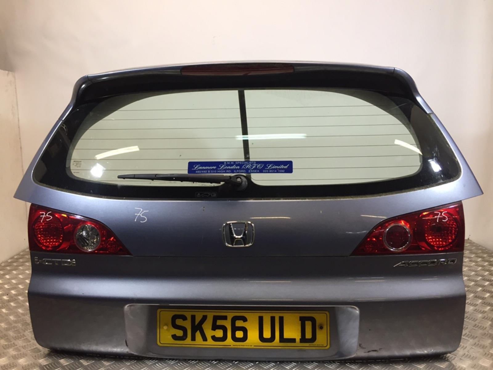 Крышка багажника (дверь 3-5) Honda Accord 2.2 CTDI 2006 (б/у)
