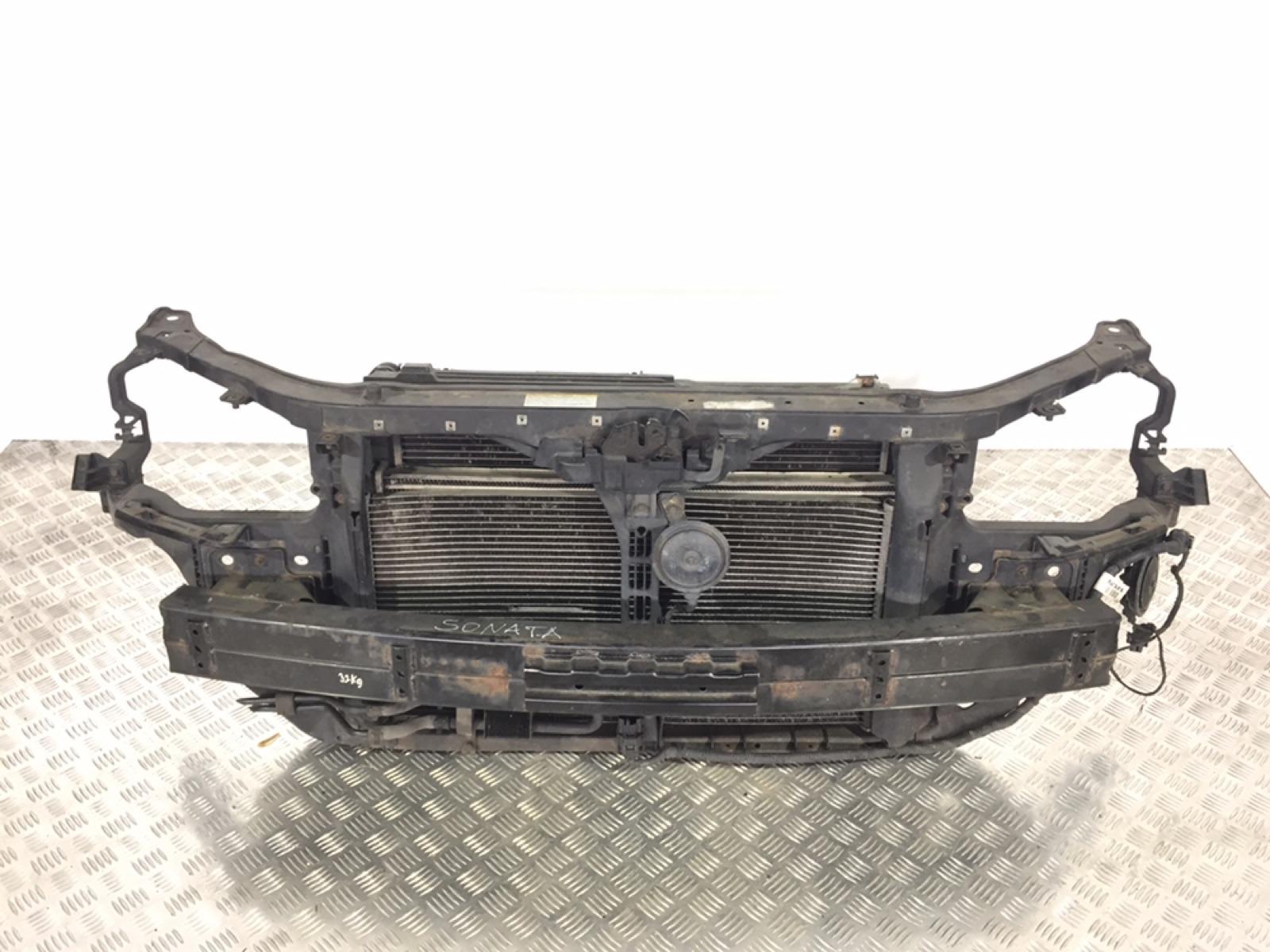 Передняя панель крепления облицовки (телевизор) Hyundai Sonata 2.0 CRDI 2006 (б/у)