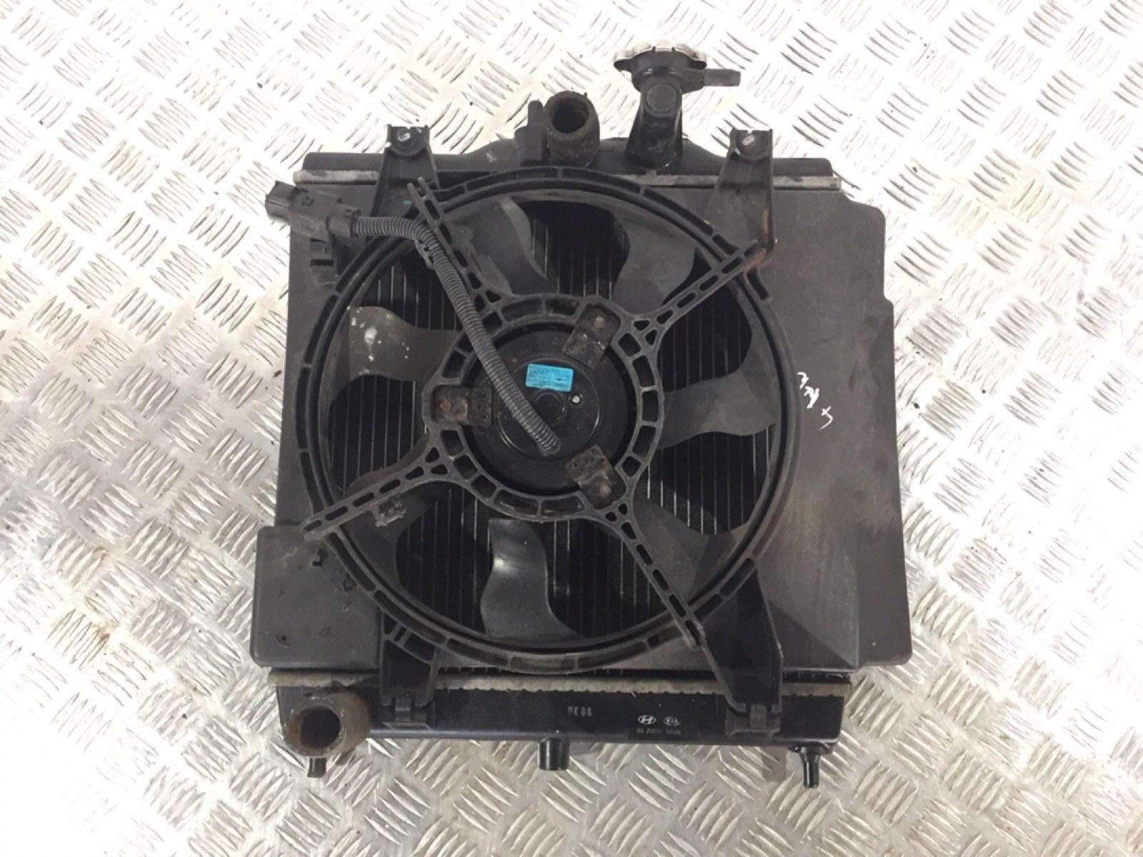 Вентилятор радиатора Kia Picanto 1.0 I 2007 (б/у)