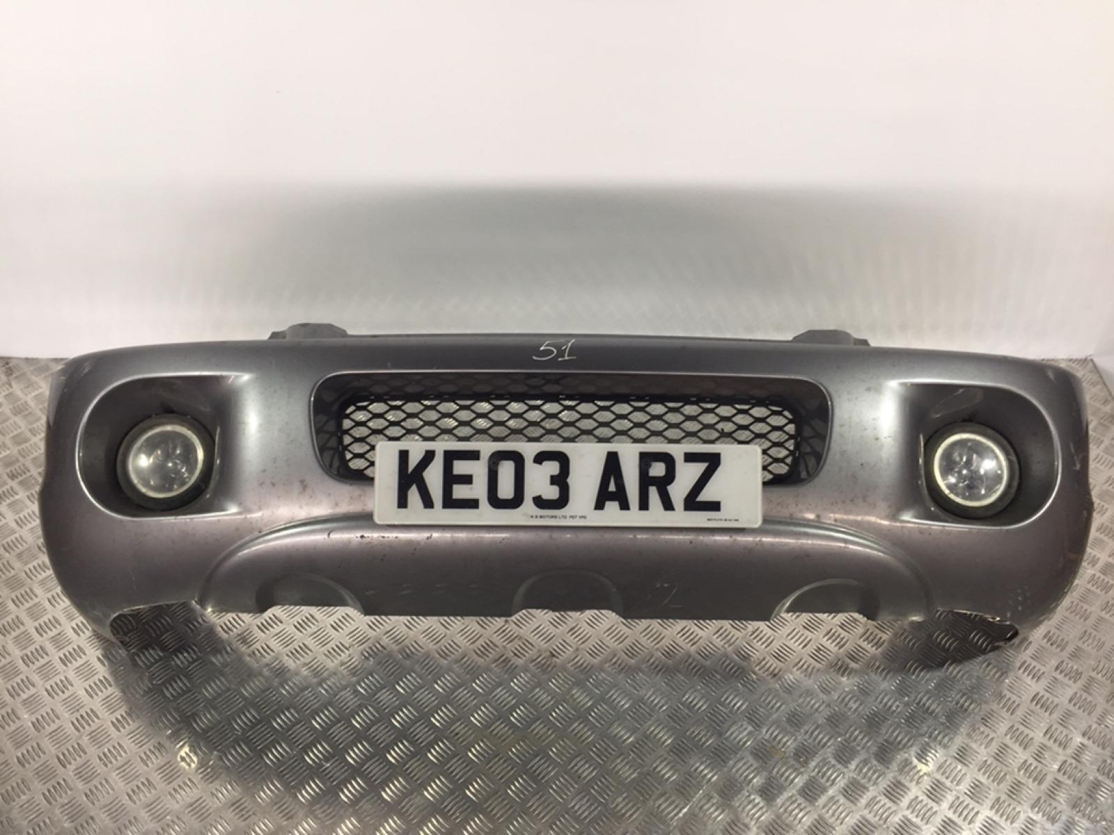 Бампер передний Hyundai Santa Fe 2.0 CRDI 2003 (б/у)