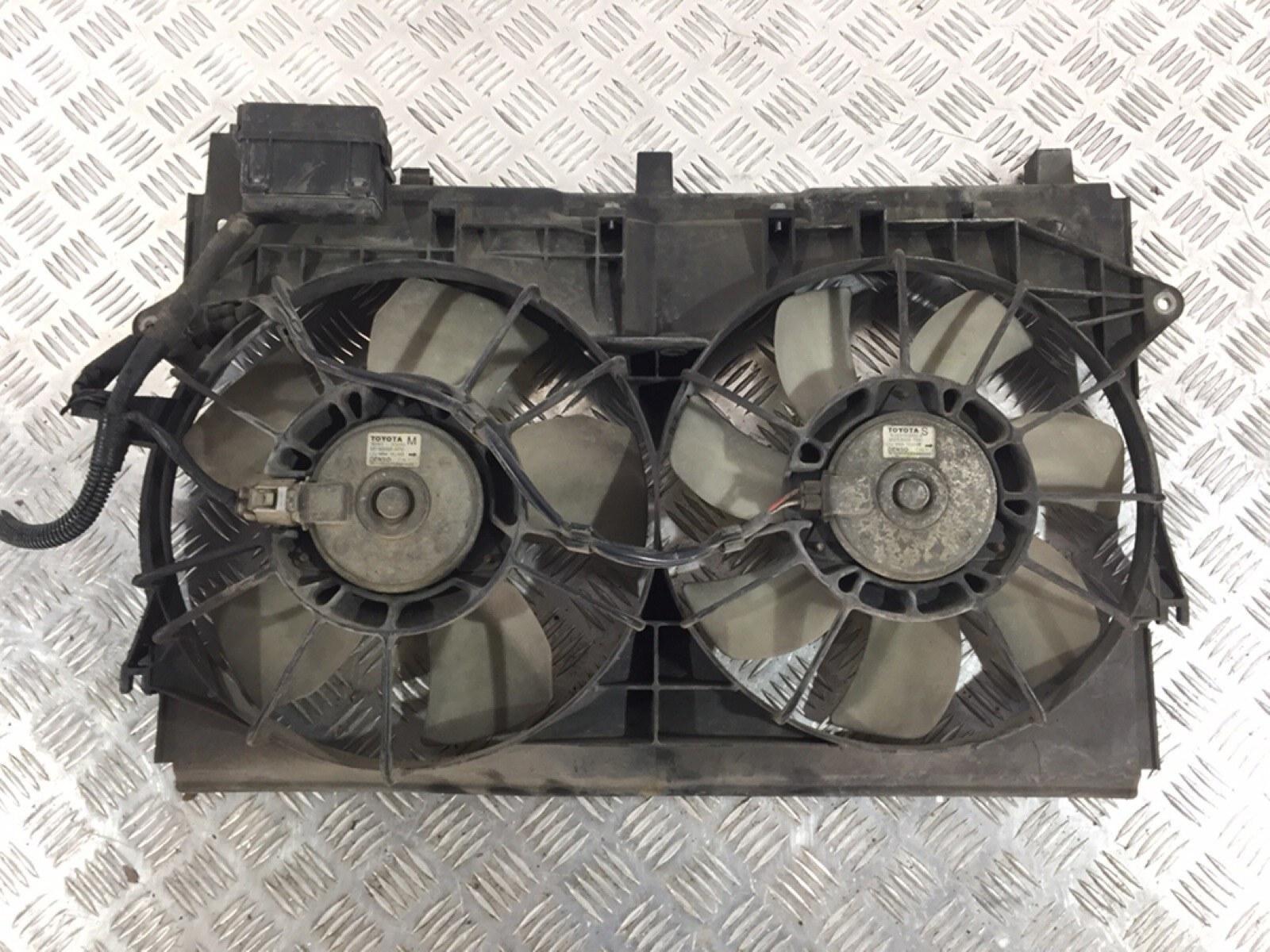 Вентилятор радиатора Toyota Corolla 2.0 D-4D 2005 (б/у)