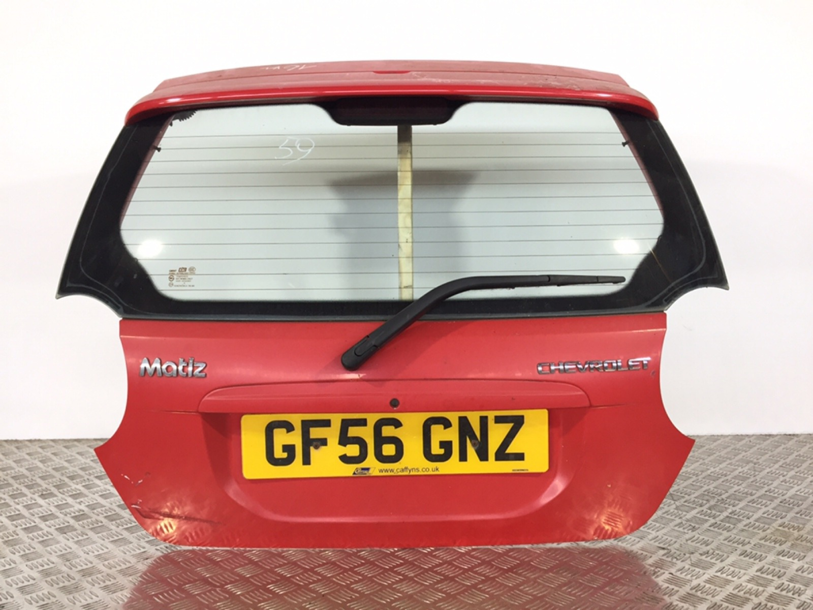 Крышка багажника Chevrolet Matiz 1.0 I 2006 (б/у)