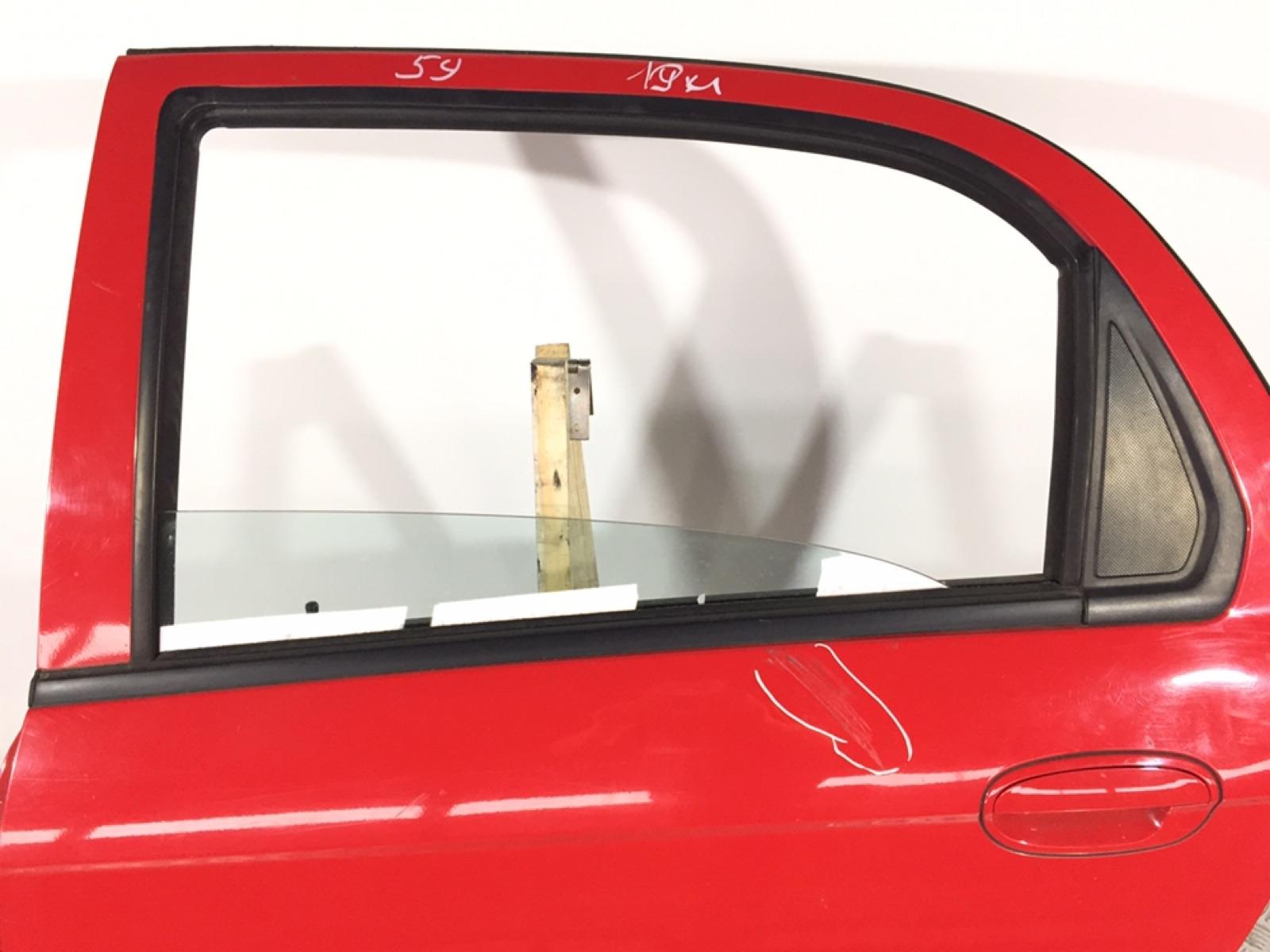 Стекло двери задней левой Chevrolet Matiz 1.0 I 2006 (б/у)