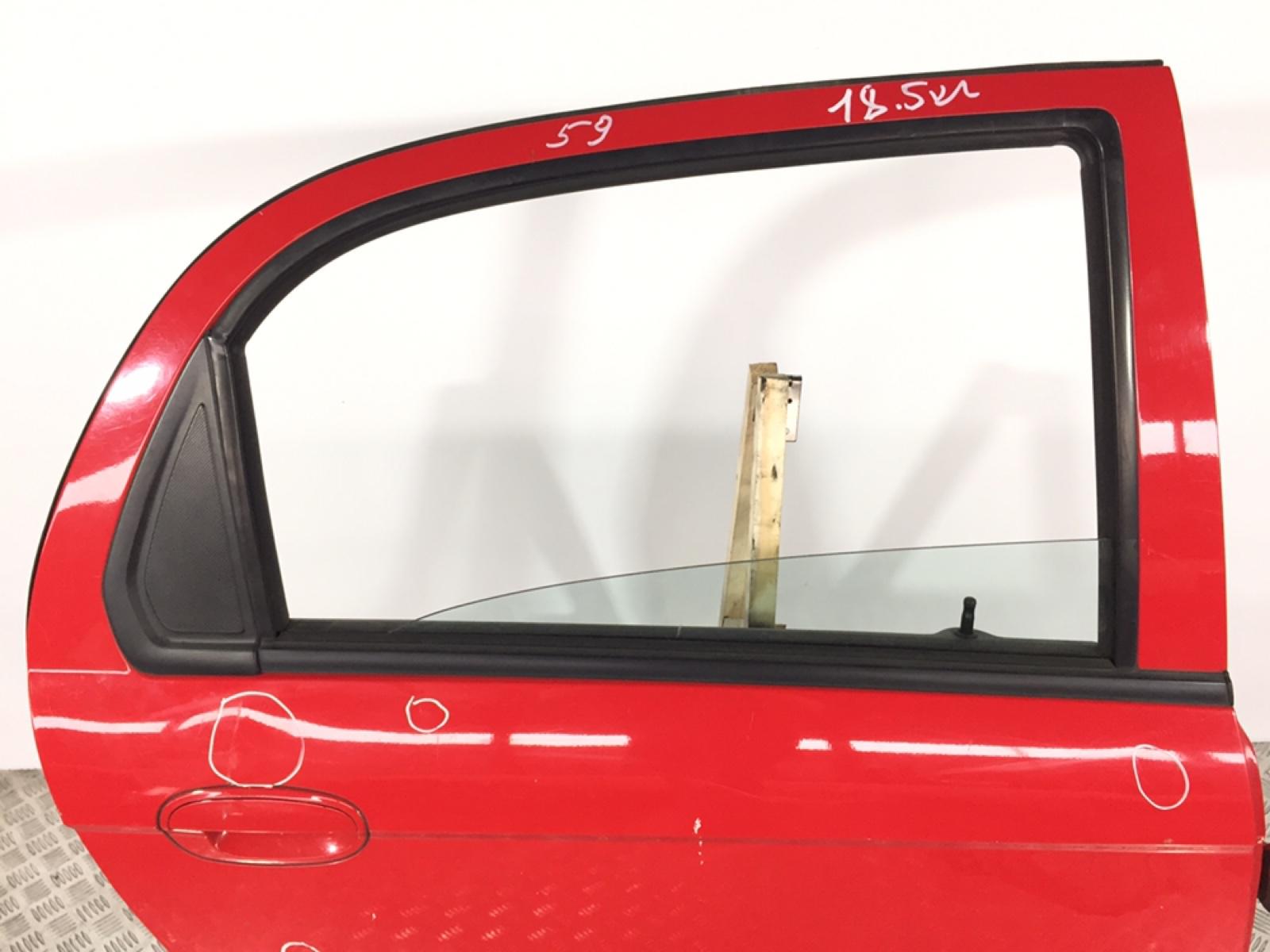 Стекло двери задней правой Chevrolet Matiz 1.0 I 2006 (б/у)