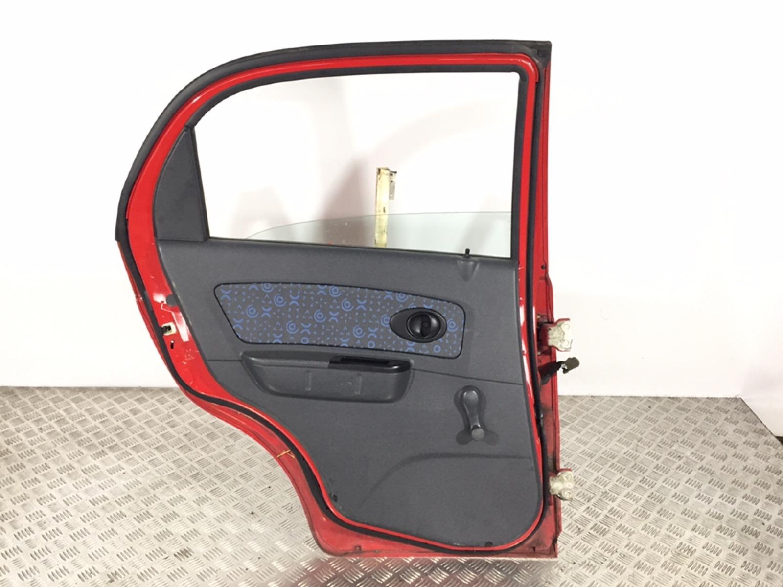 Обшивка двери задней левой (дверная карта) Chevrolet Matiz 1.0 I 2006 (б/у)