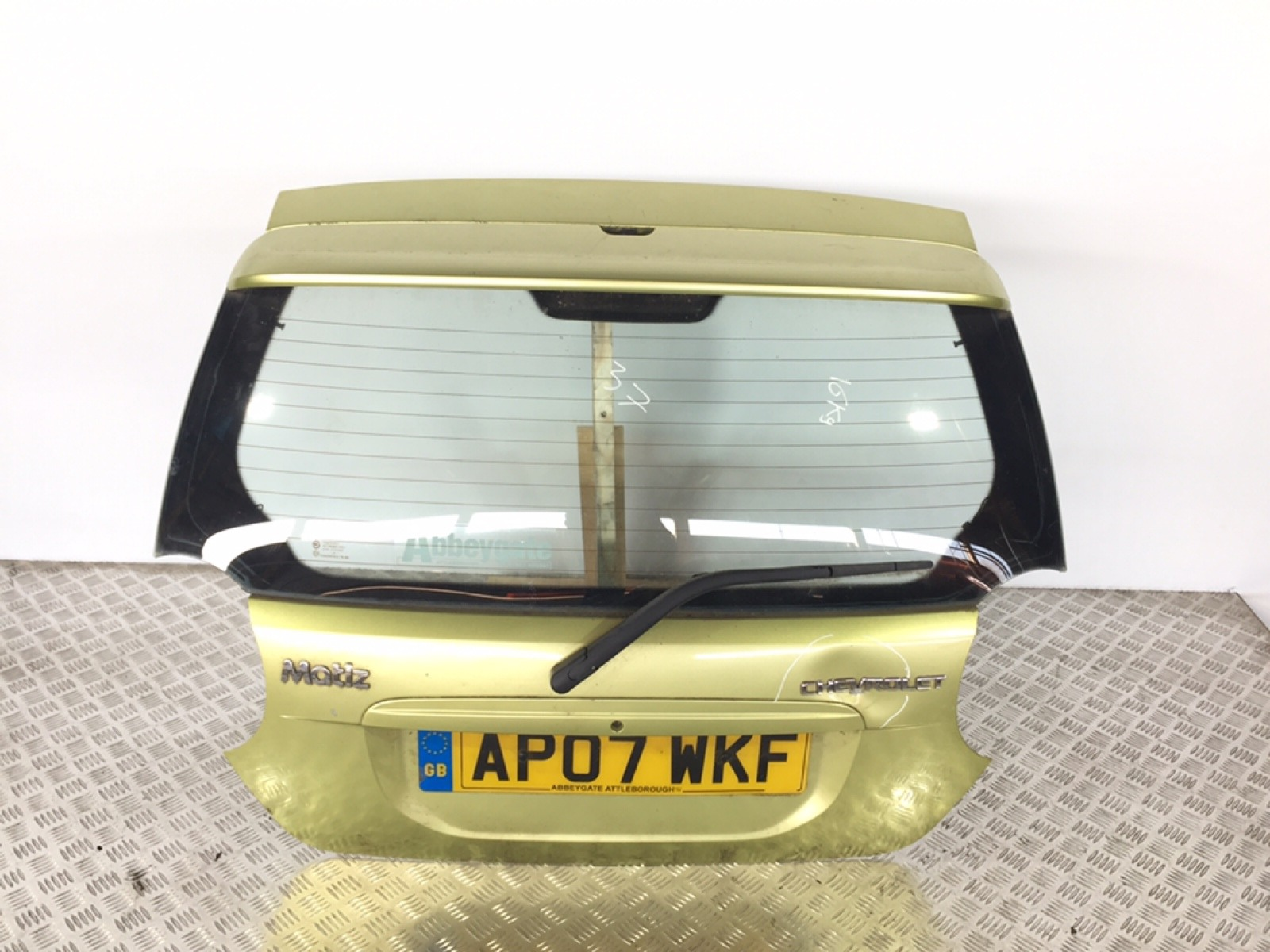 Крышка багажника (дверь 3-5) Chevrolet Matiz 1.0 I 2007 (б/у)