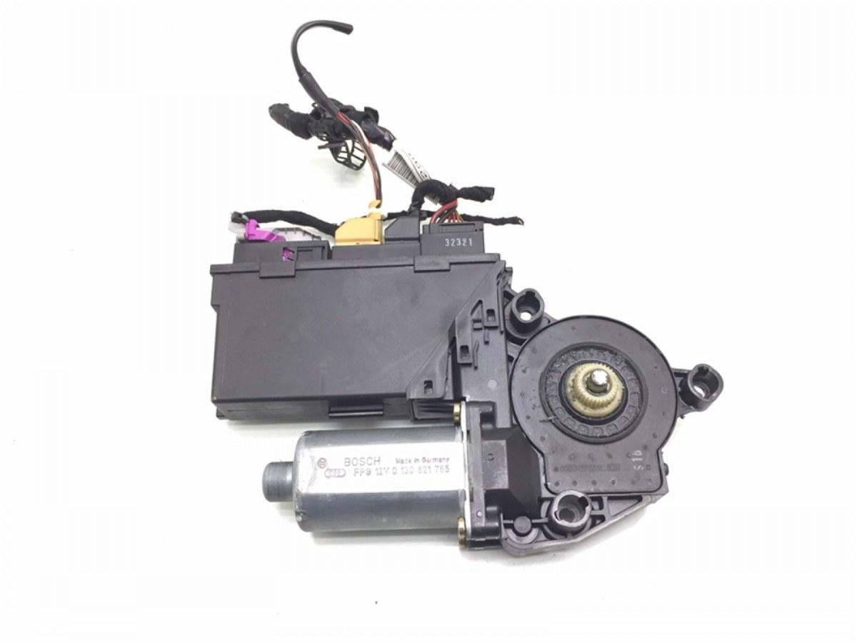 Моторчик стеклоподъемника передний левый Audi A4 B6 1.9 TDI 2003 (б/у)
