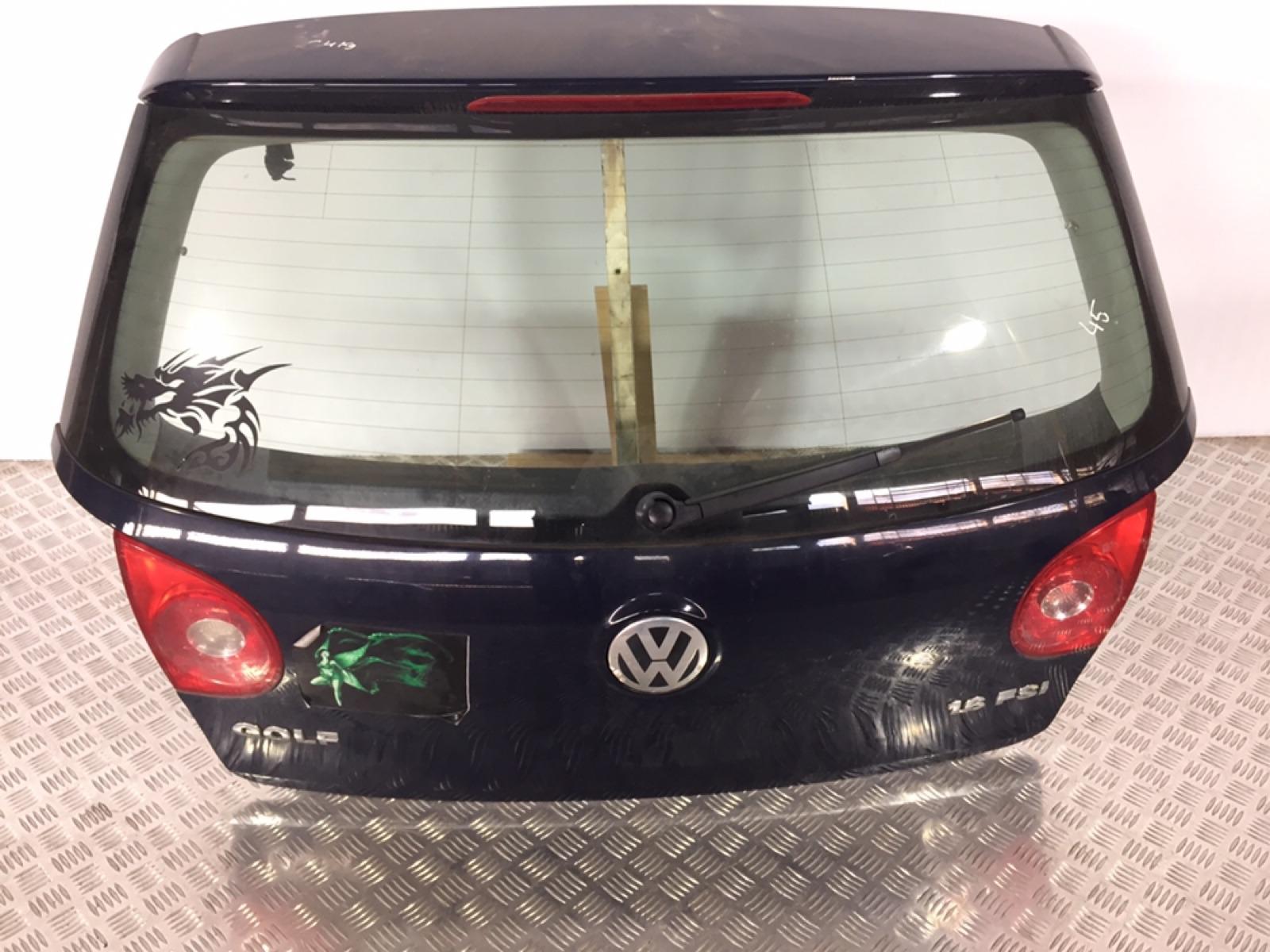 Моторчик заднего стеклоочистителя (дворника) Volkswagen Golf 5 1.6 FSI 2005 (б/у)