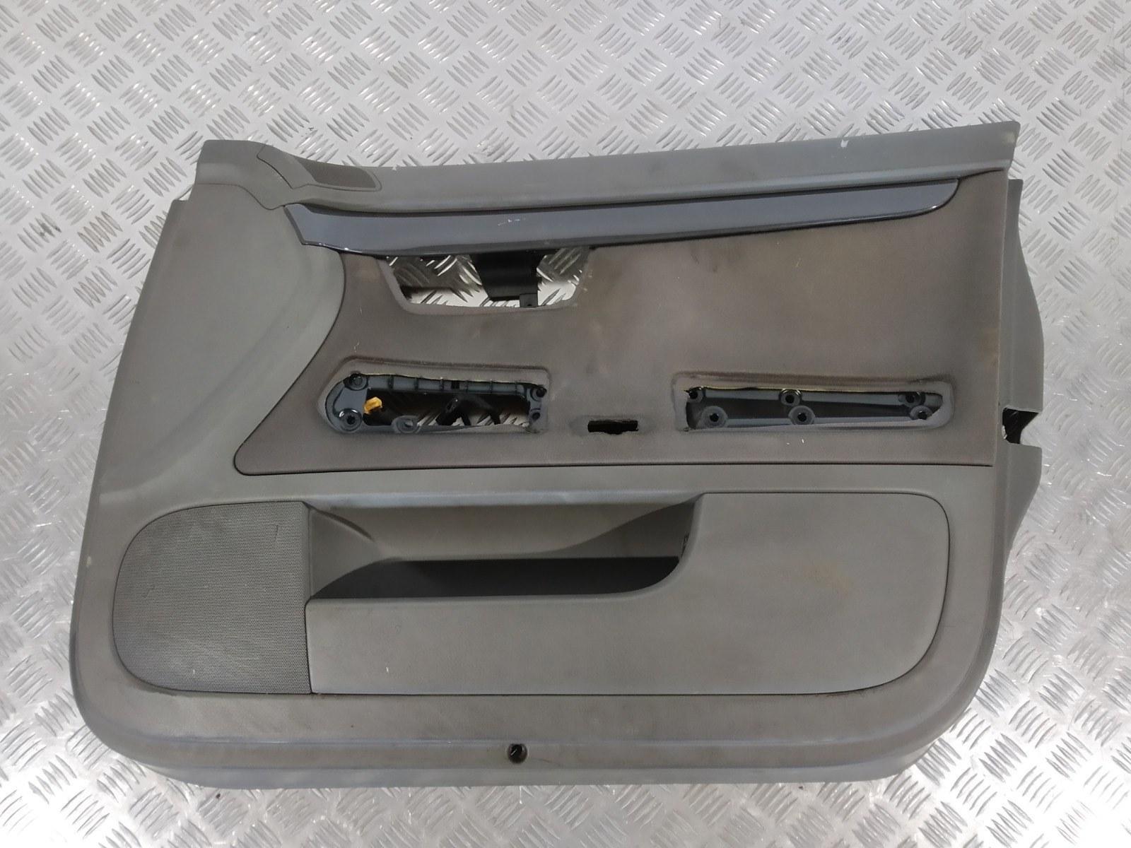 Обшивка двери передней правой (дверная карта) Audi A4 B6 1.9 TDI 2003 (б/у)