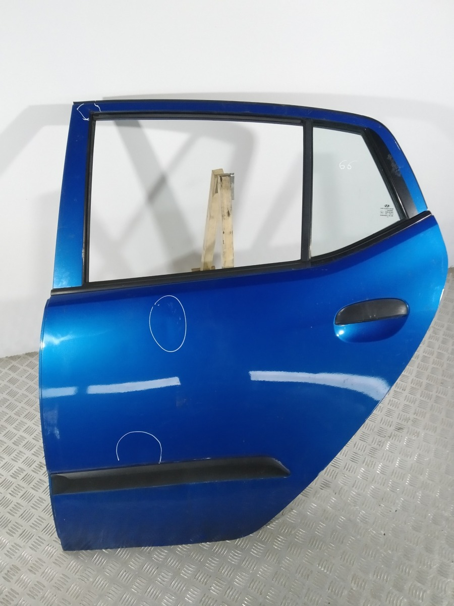 Дверь задняя левая Hyundai I10 1.1 I 2008 (б/у)