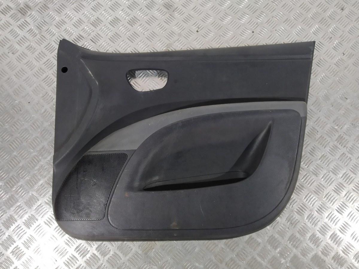 Обшивка двери передней правой (дверная карта) Hyundai I10 1.1 I 2008 (б/у)