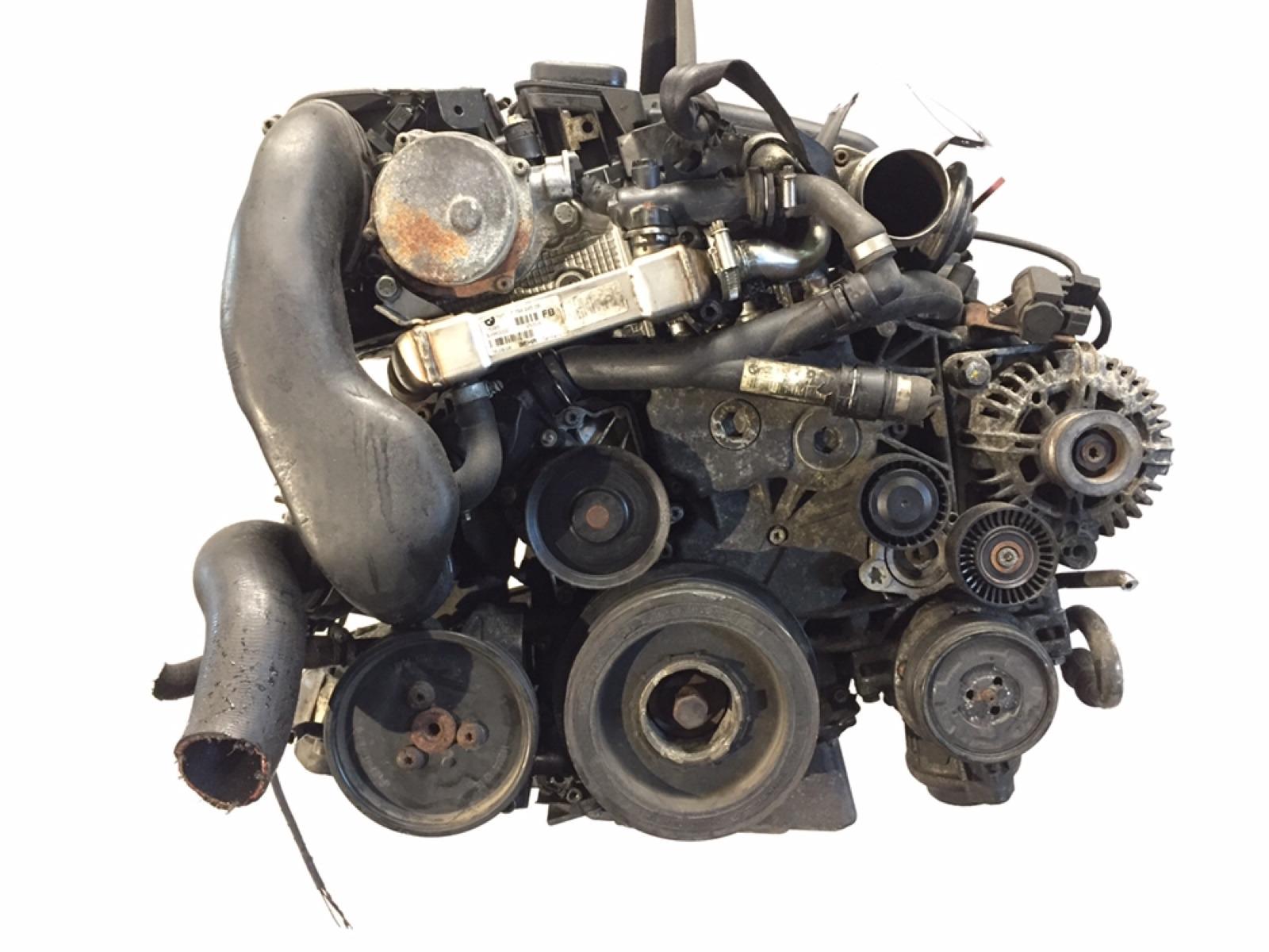 Двигатель Bmw 1 E87 2.0 TD 2006 (б/у)