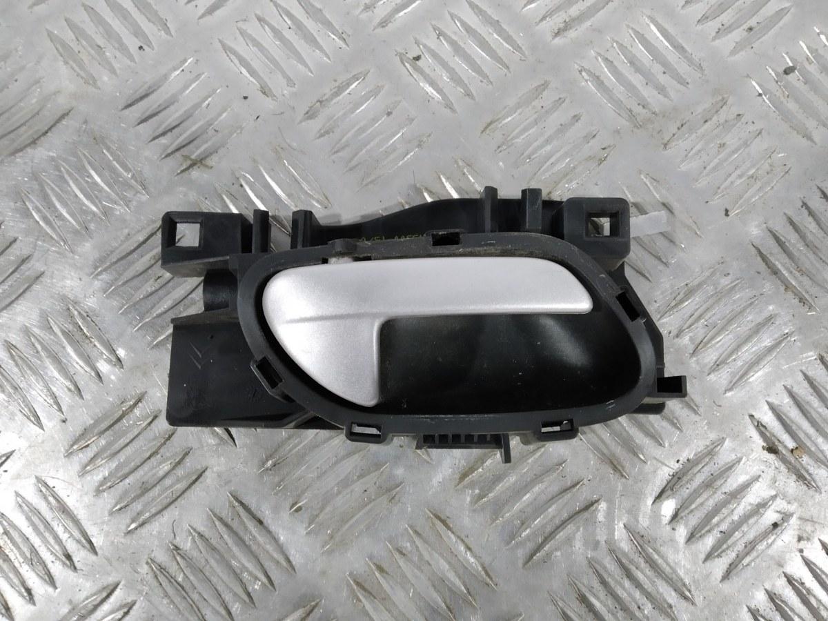 Ручка внутренняя передняя правая Peugeot 207 1.4 I 2007 (б/у)