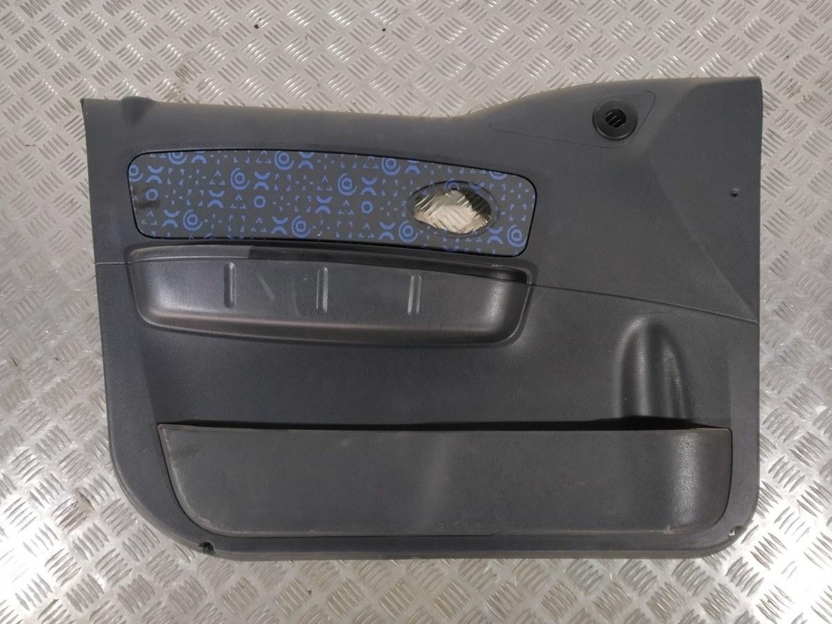 Обшивка двери передней левой (дверная карта) Chevrolet Matiz 1.0 I 2006 (б/у)