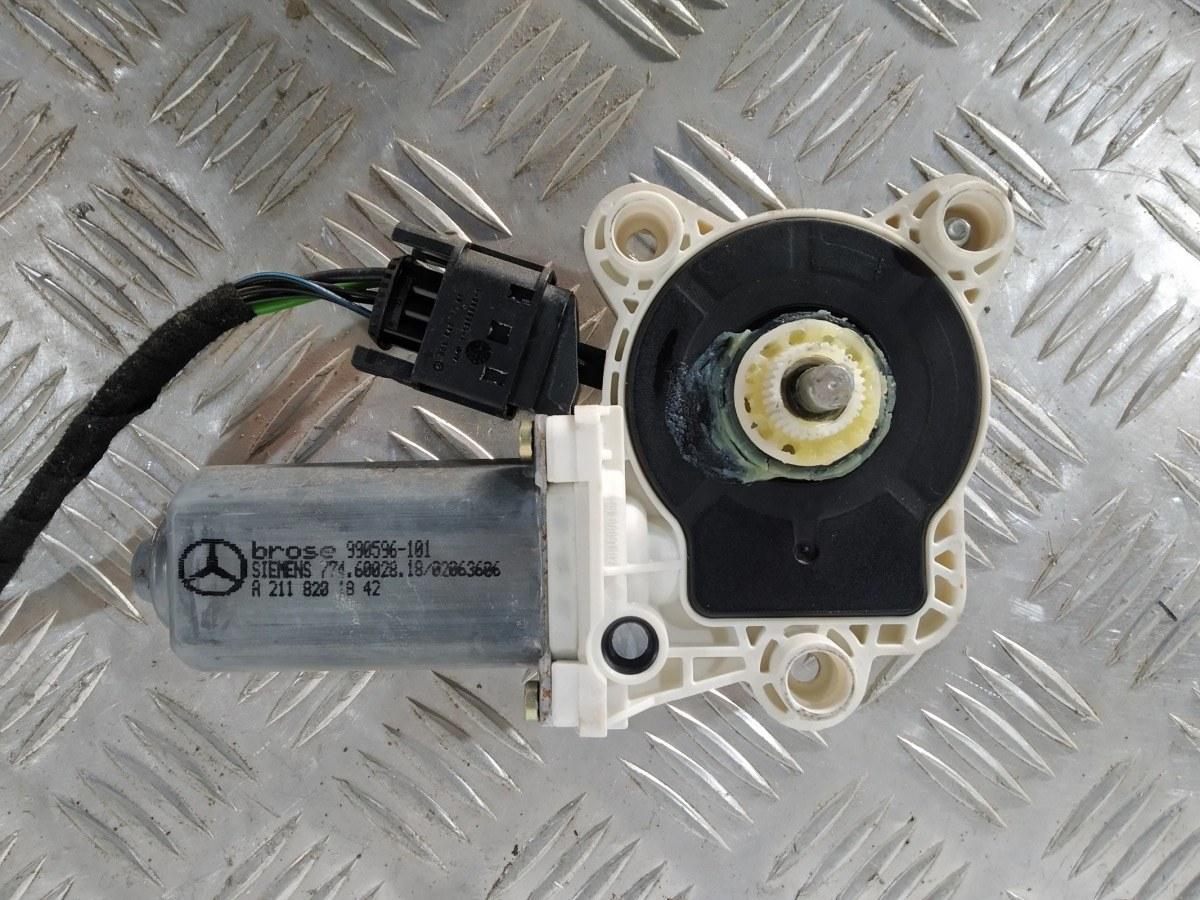 Моторчик стеклоподъемника передний левый Mercedes C W203 2.2 CDI 2004 (б/у)