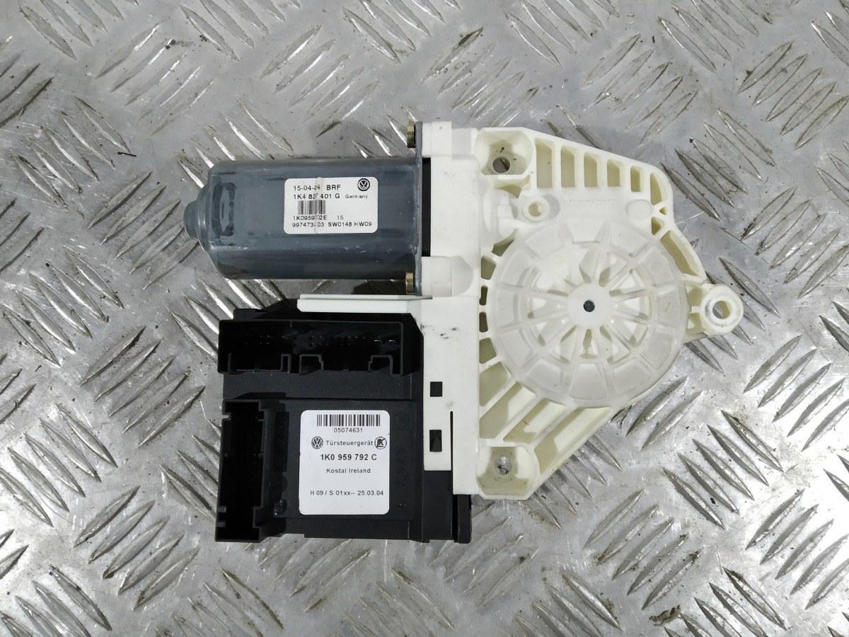 Моторчик стеклоподъемника передний левый Volkswagen Golf 5 1.6 FSI 2006 (б/у)