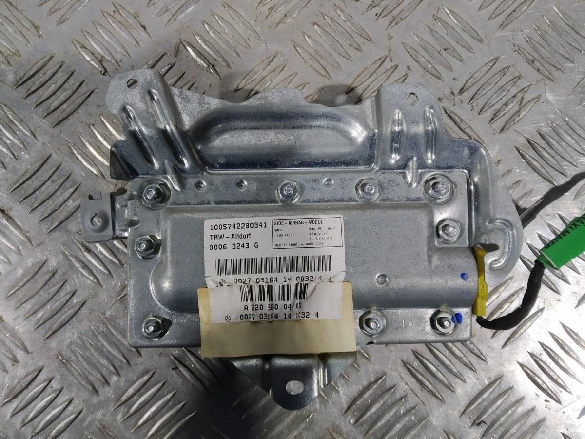 Подушка безопасности боковая (в дверь) Mercedes S W220 3.7 I 2003 (б/у)