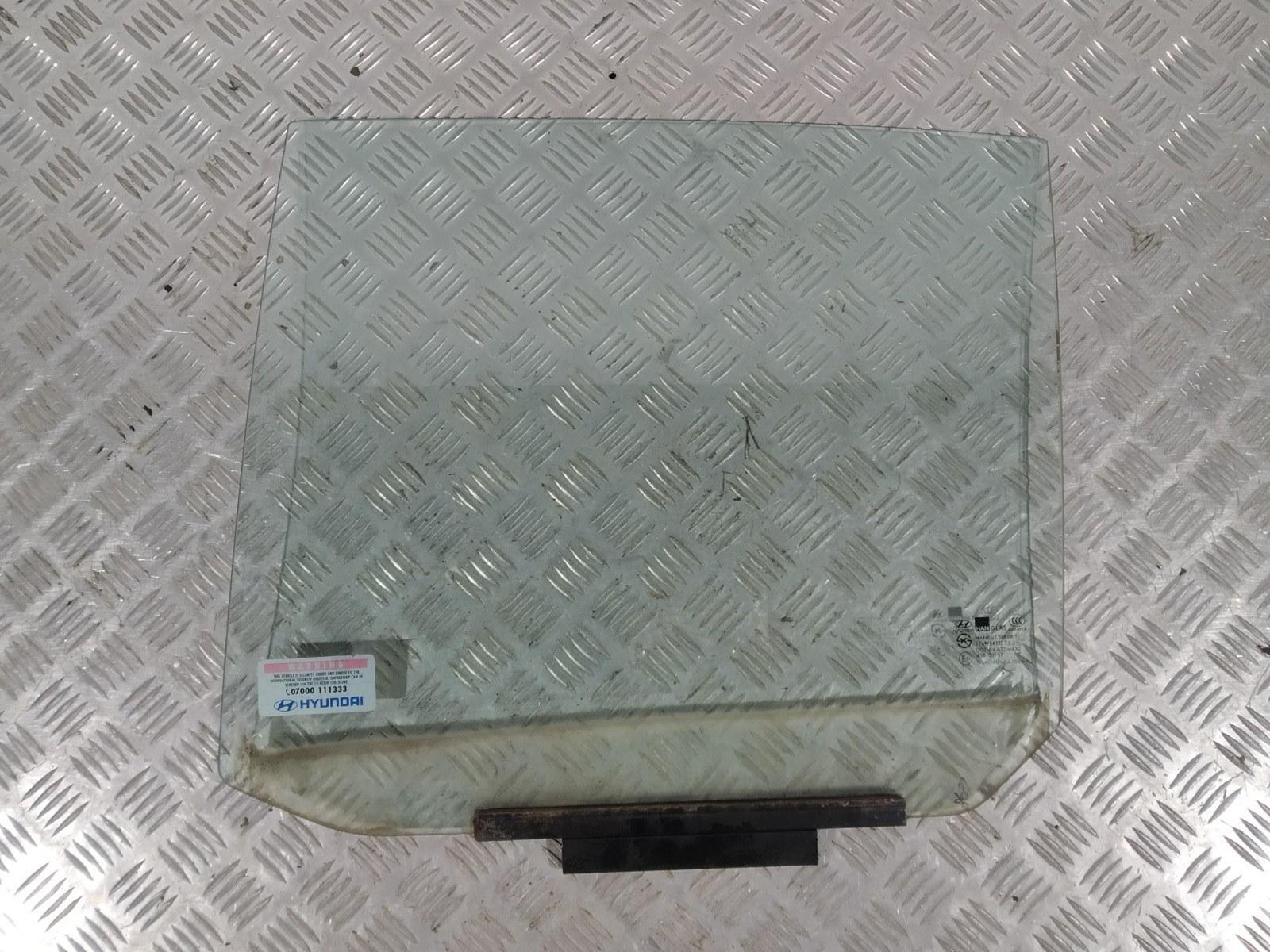 Стекло двери задней левой Hyundai Getz 1.4 I 2005 (б/у)