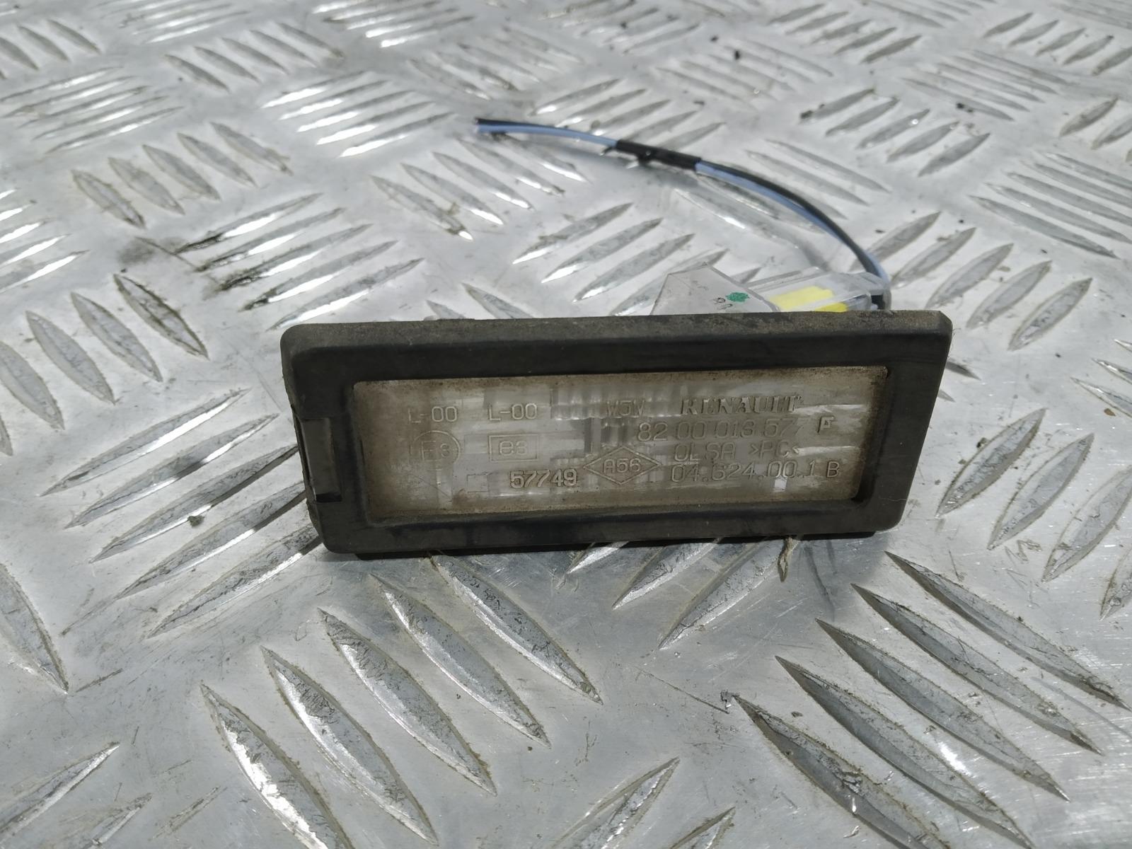 Подсветка номера Renault Espace 1.9 DCI 2004 (б/у)