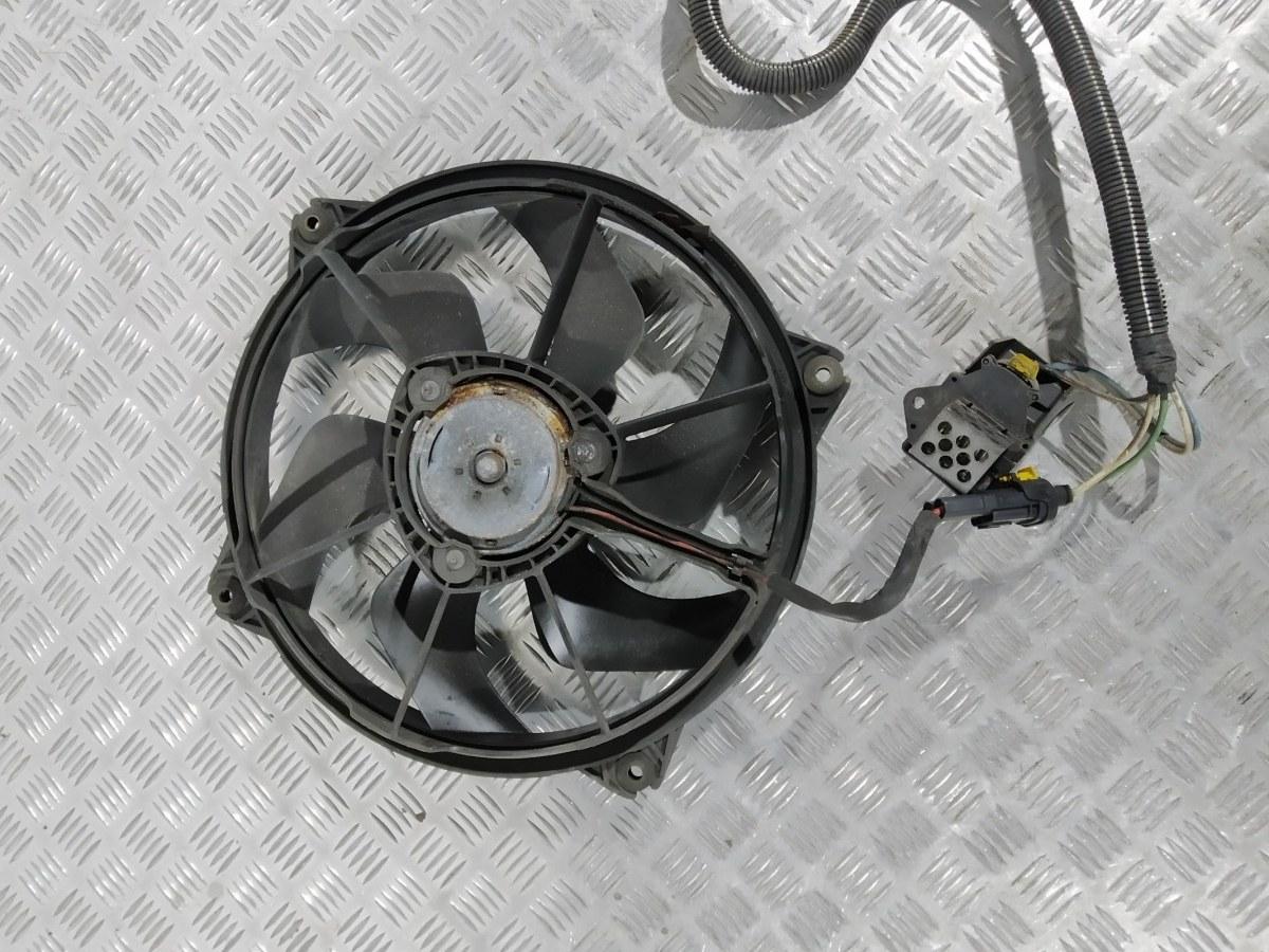 Вентилятор радиатора Citroen C4 Picasso 2.0 HDI 2008 (б/у)