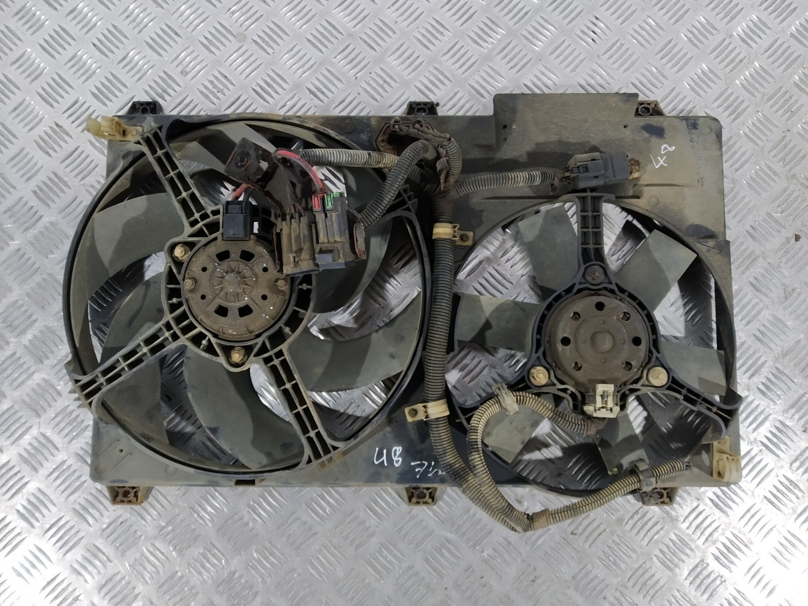 Вентилятор радиатора Fiat Ducato 2.3 TD 2003 (б/у)
