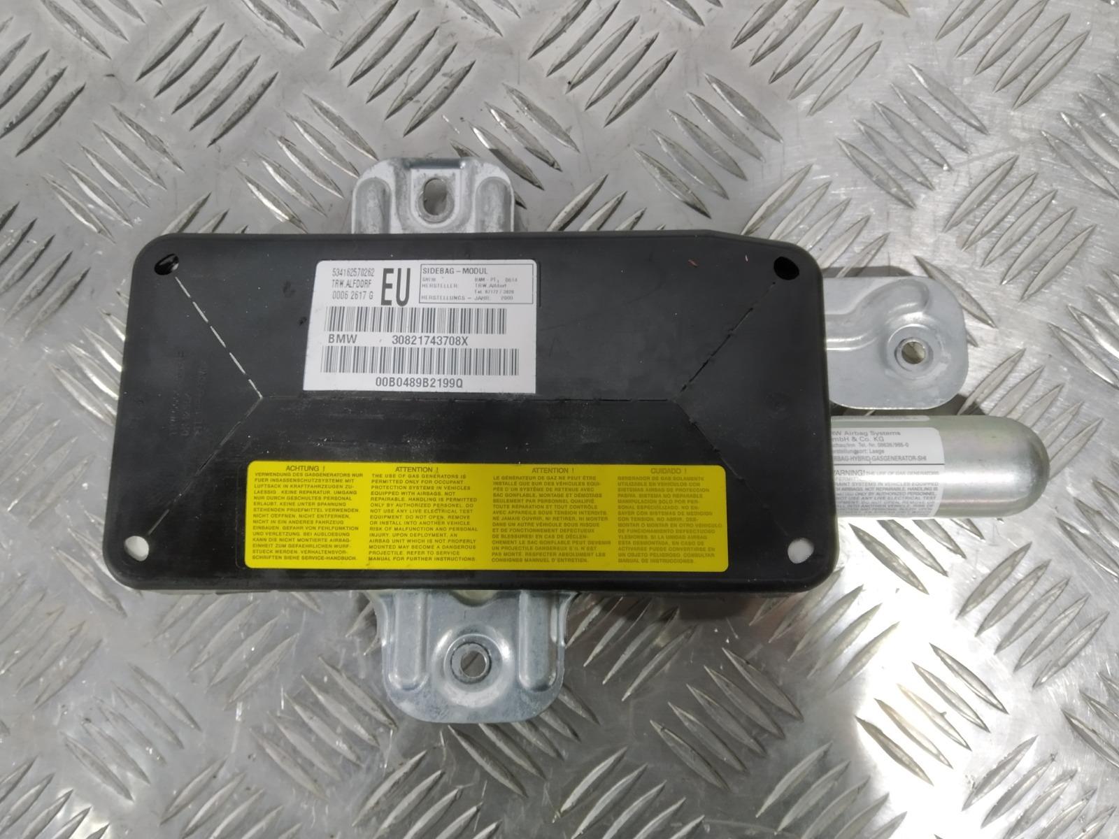 Подушка безопасности боковая (в дверь) Bmw 3 E46 1.9 I 2000 (б/у)