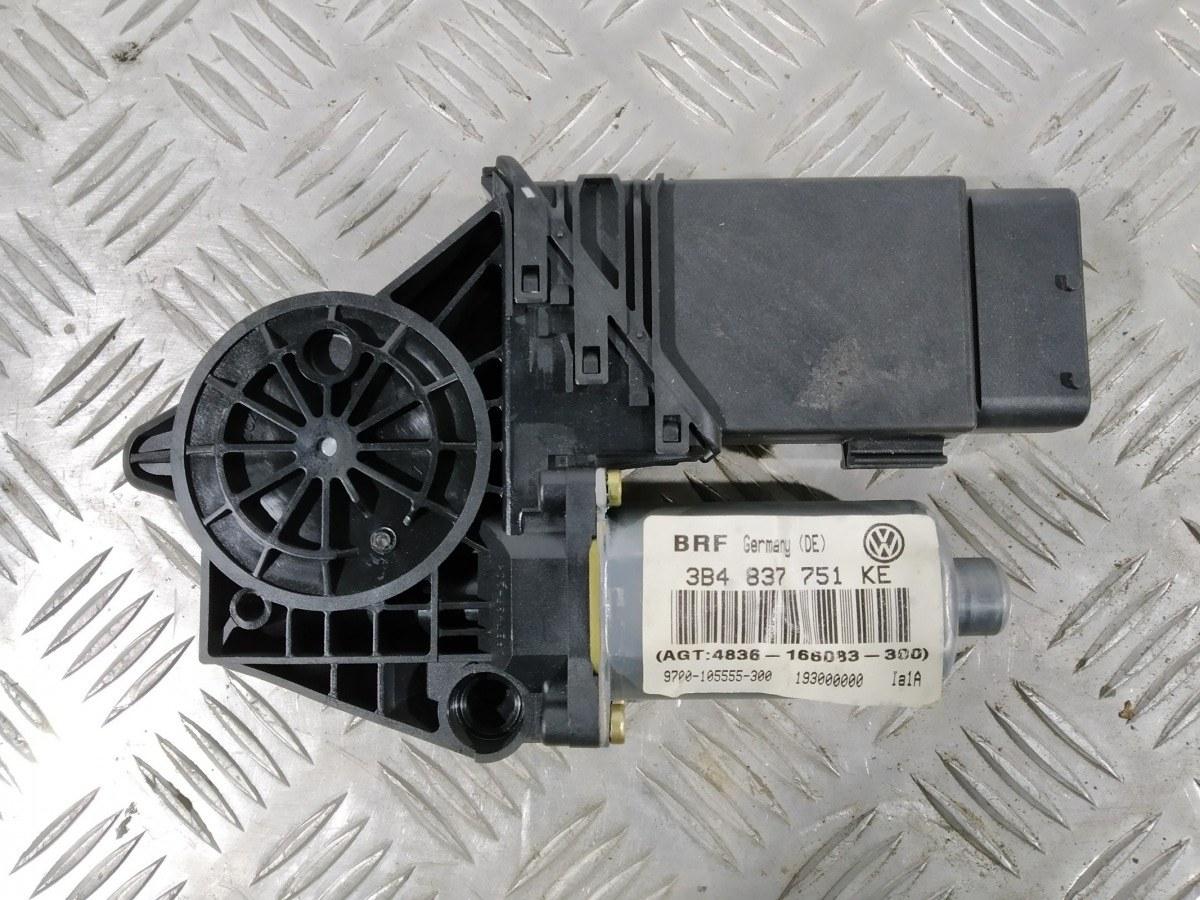 Моторчик стеклоподъемника передний левый Volkswagen Passat B5 2.3 I 2001 (б/у)