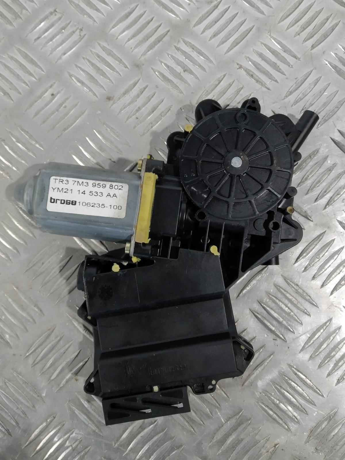 Моторчик стеклоподъемника передний правый Seat Alhambra 1.9 TDI 2002 (б/у)