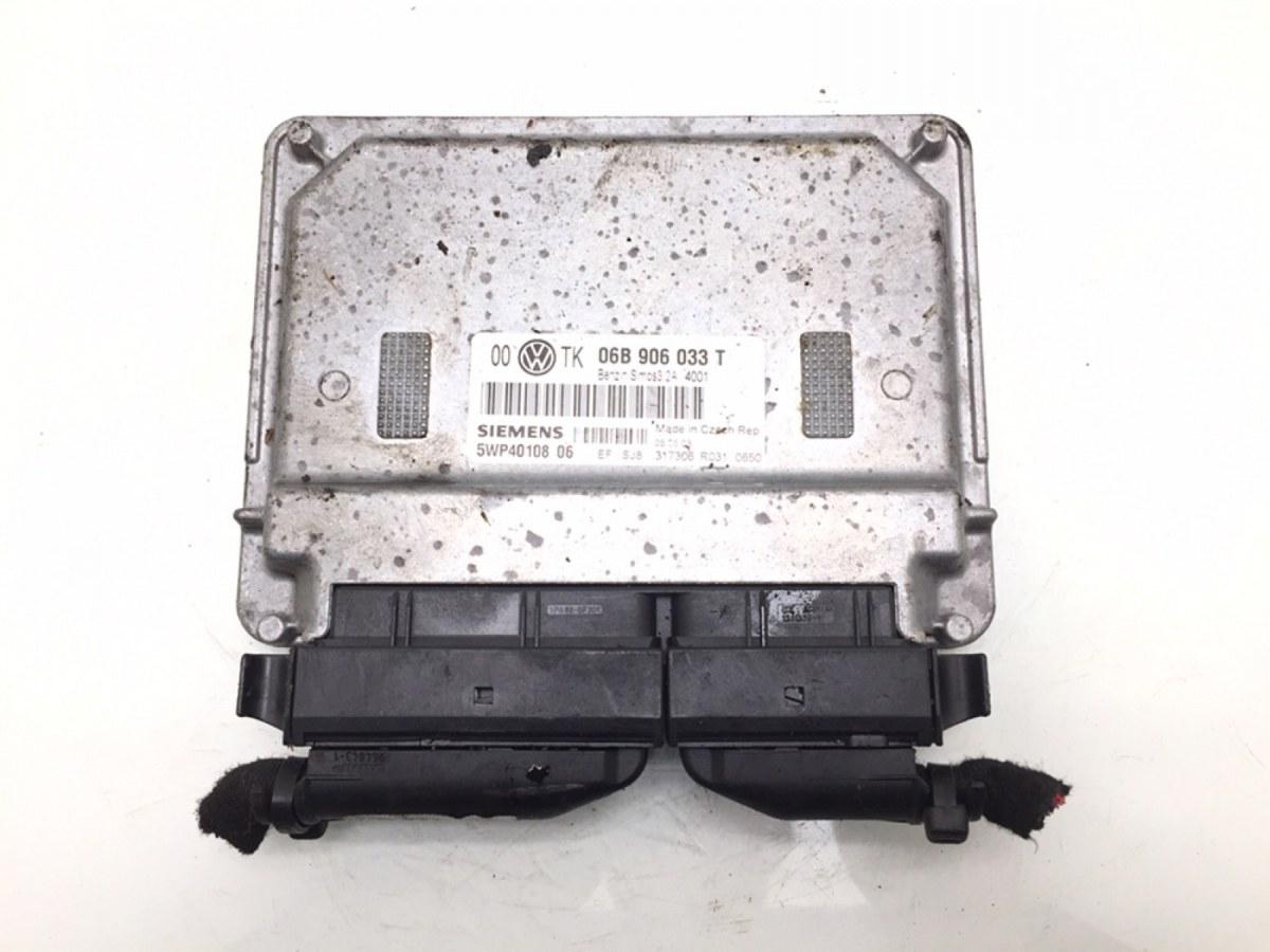 Блок управления двигателем Skoda Superb 2.0 I 2004 (б/у)