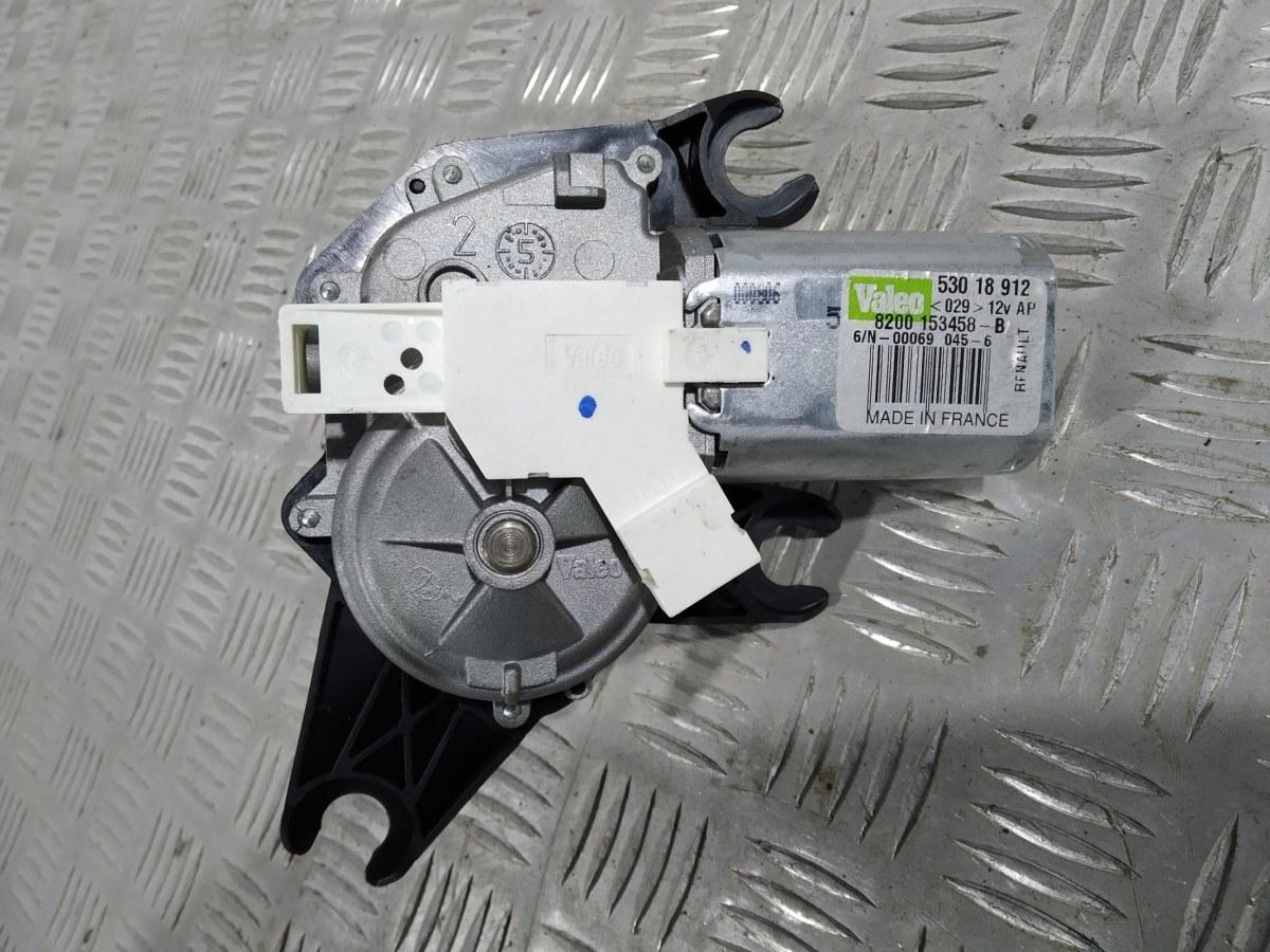 Моторчик заднего стеклоочистителя (дворника) Renault Scenic 1.6 I 2006 (б/у)