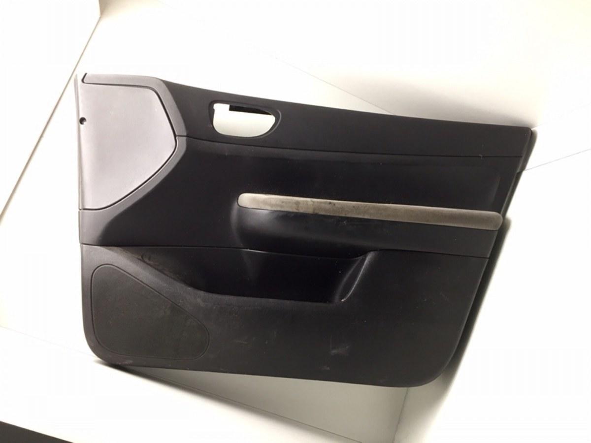 Обшивка двери передней правой (дверная карта) Peugeot 307 2.0 HDI 2006 (б/у)