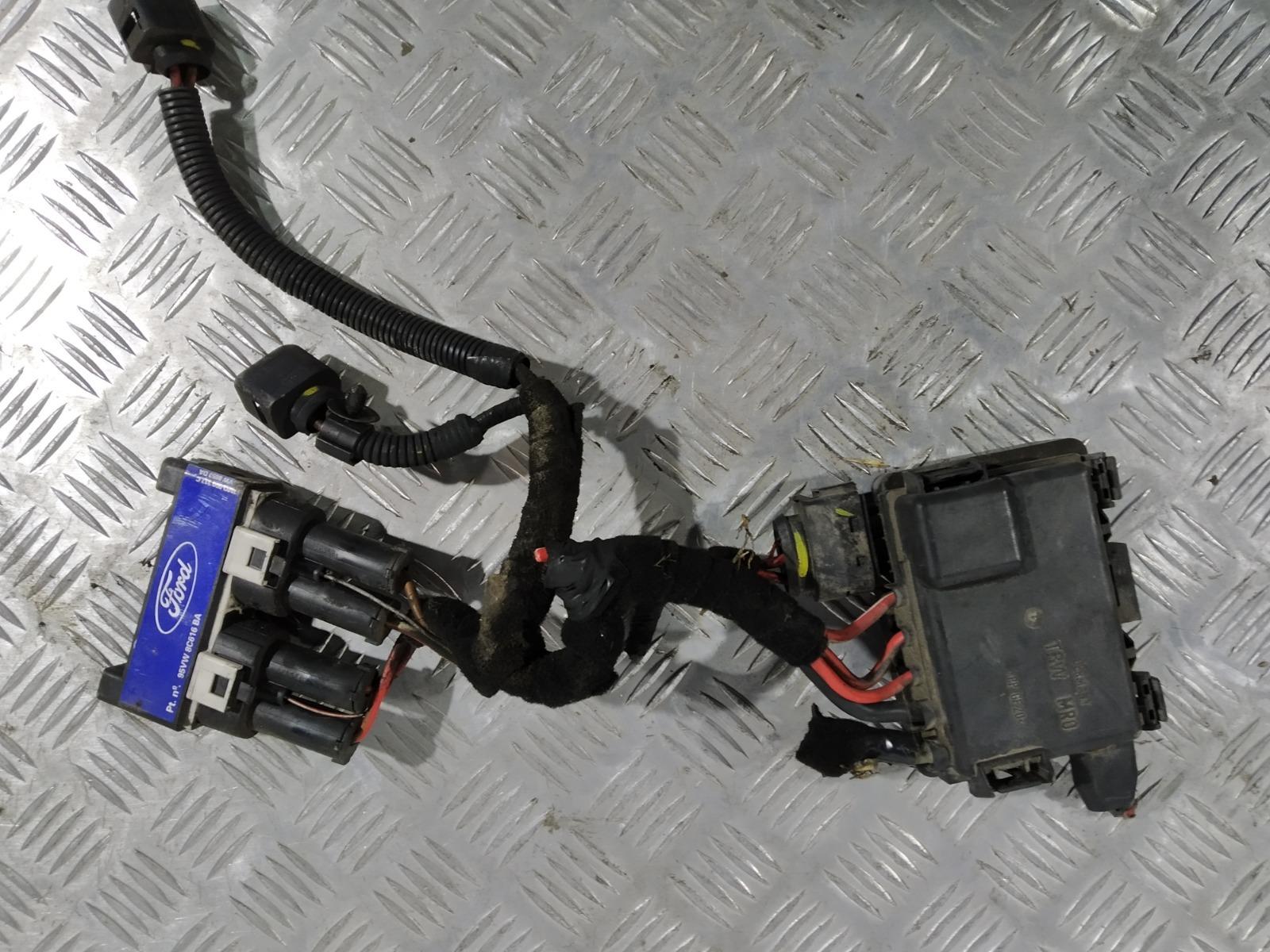 Блок управления вентилятором радиатора Ford Galaxy 1.9 TDI 2001 (б/у)