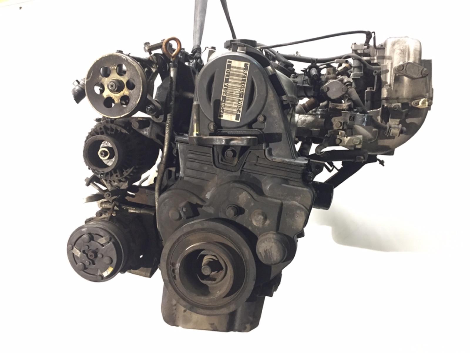 Двигатель бензиновый Honda Prelude 2.0 I 2000 (б/у)