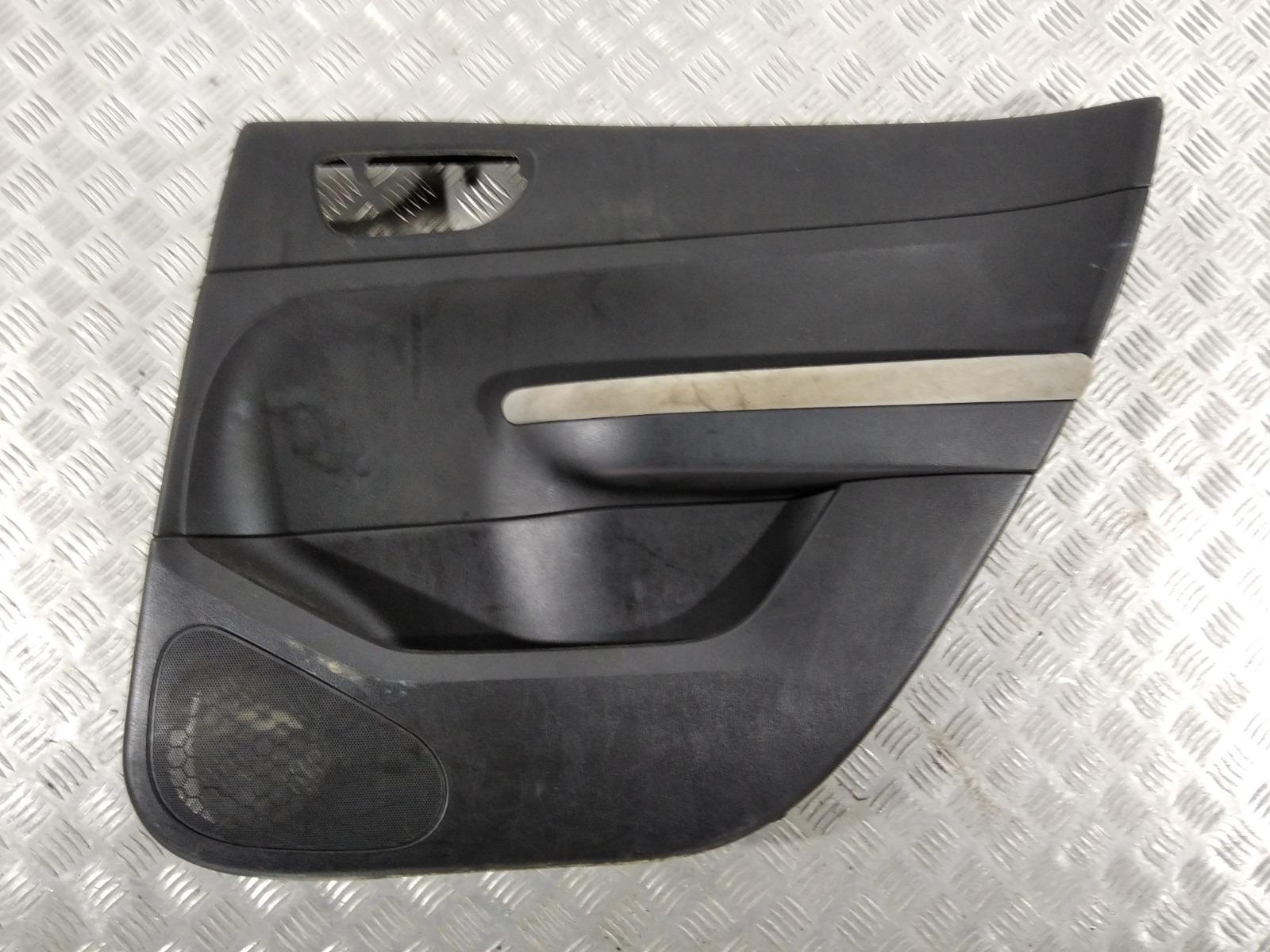 Обшивка двери задней правой (дверная карта) Peugeot 307 2.0 HDI 2006 (б/у)