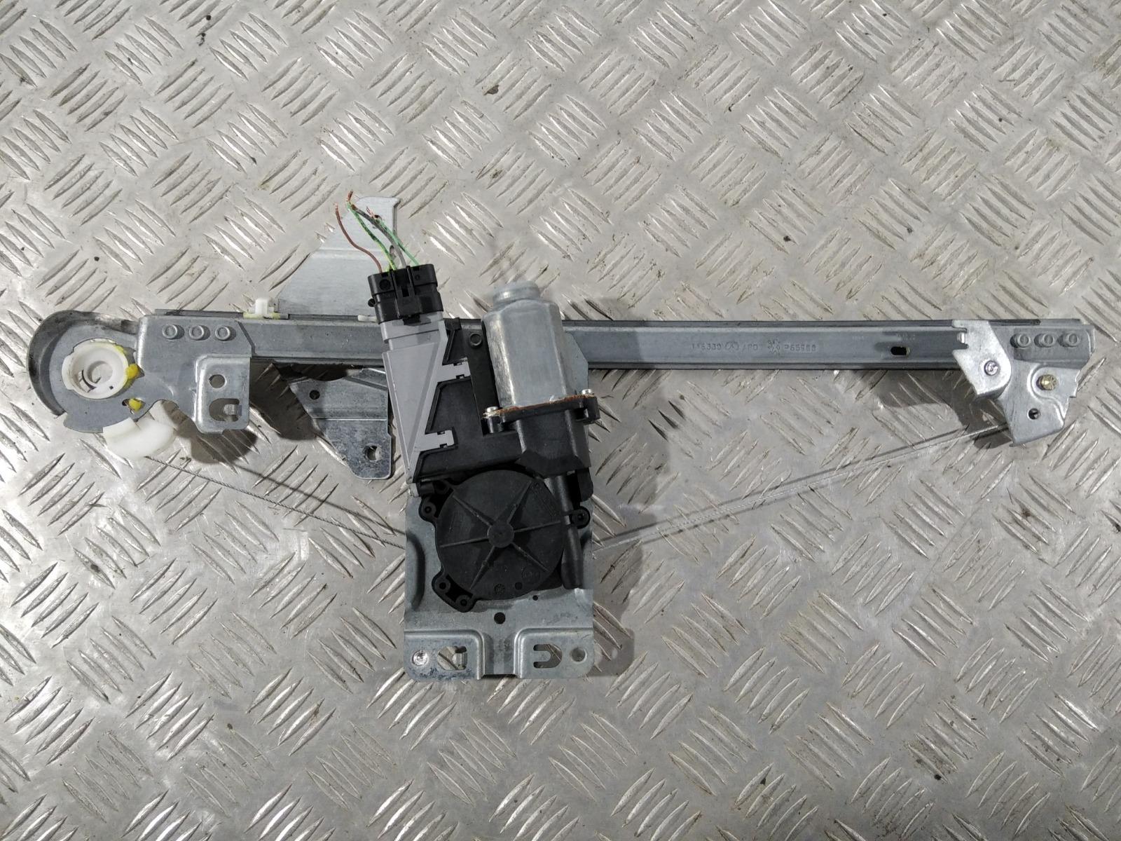 Стеклоподъемник электрический задний правый Peugeot 307 2.0 HDI 2006 (б/у)