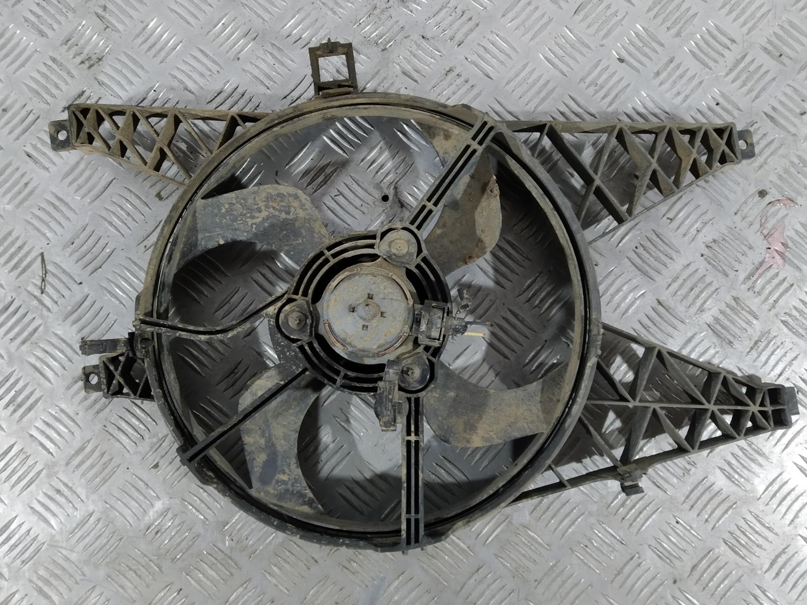 Вентилятор радиатора Renault Twingo 1.2 I 2009 (б/у)