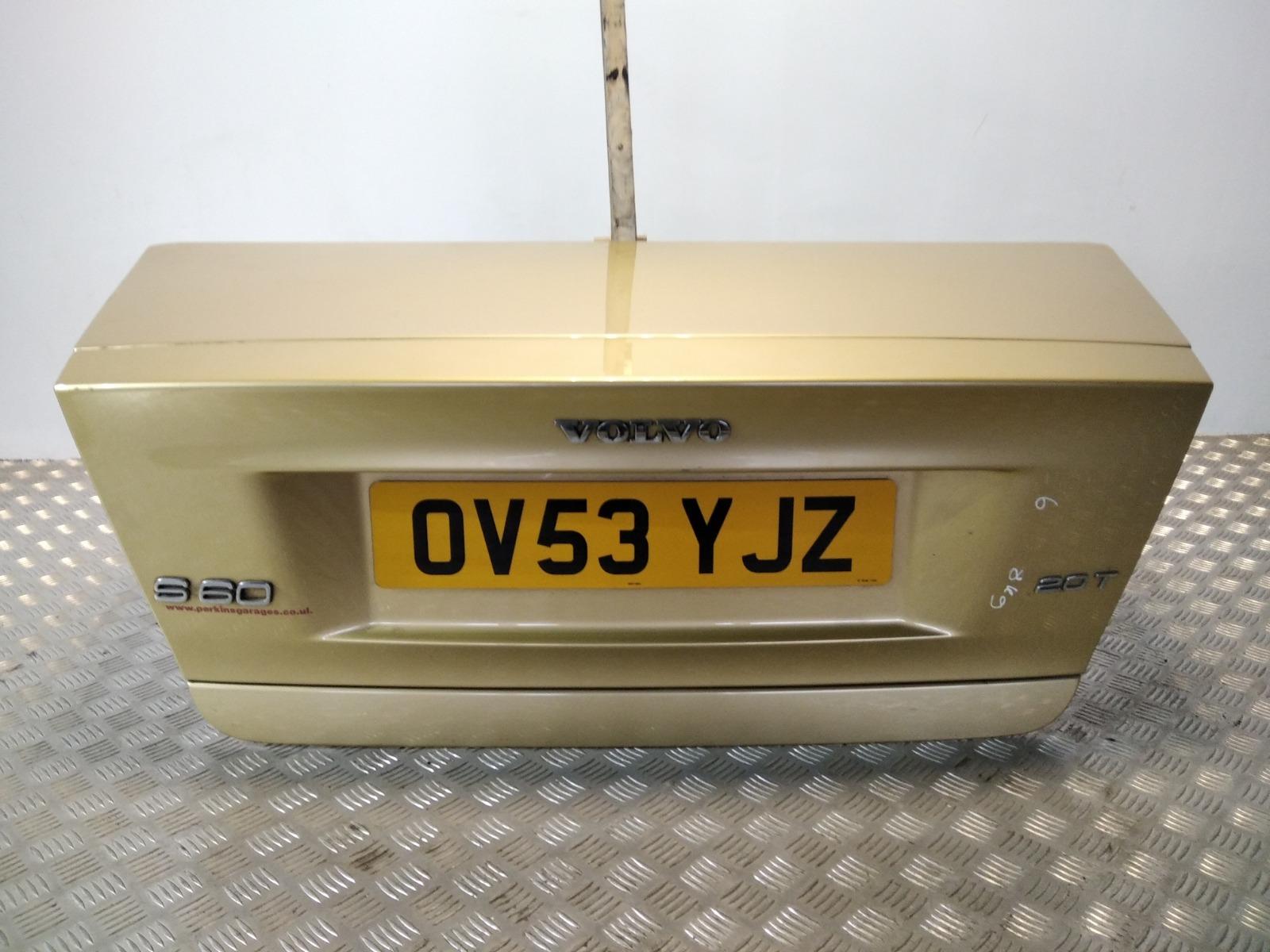 Крышка багажника Volvo S60 2.0 TI 2003 (б/у)