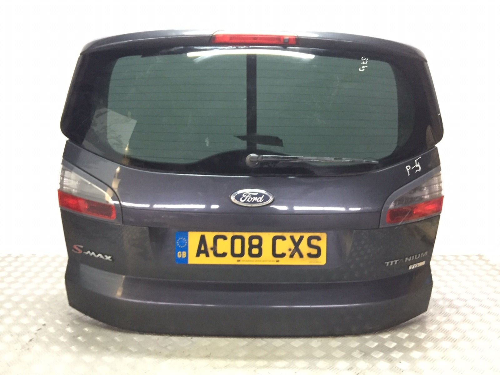 Крышка багажника (дверь 3-5) Ford S-Max 2.0 TDCI 2008 (б/у)