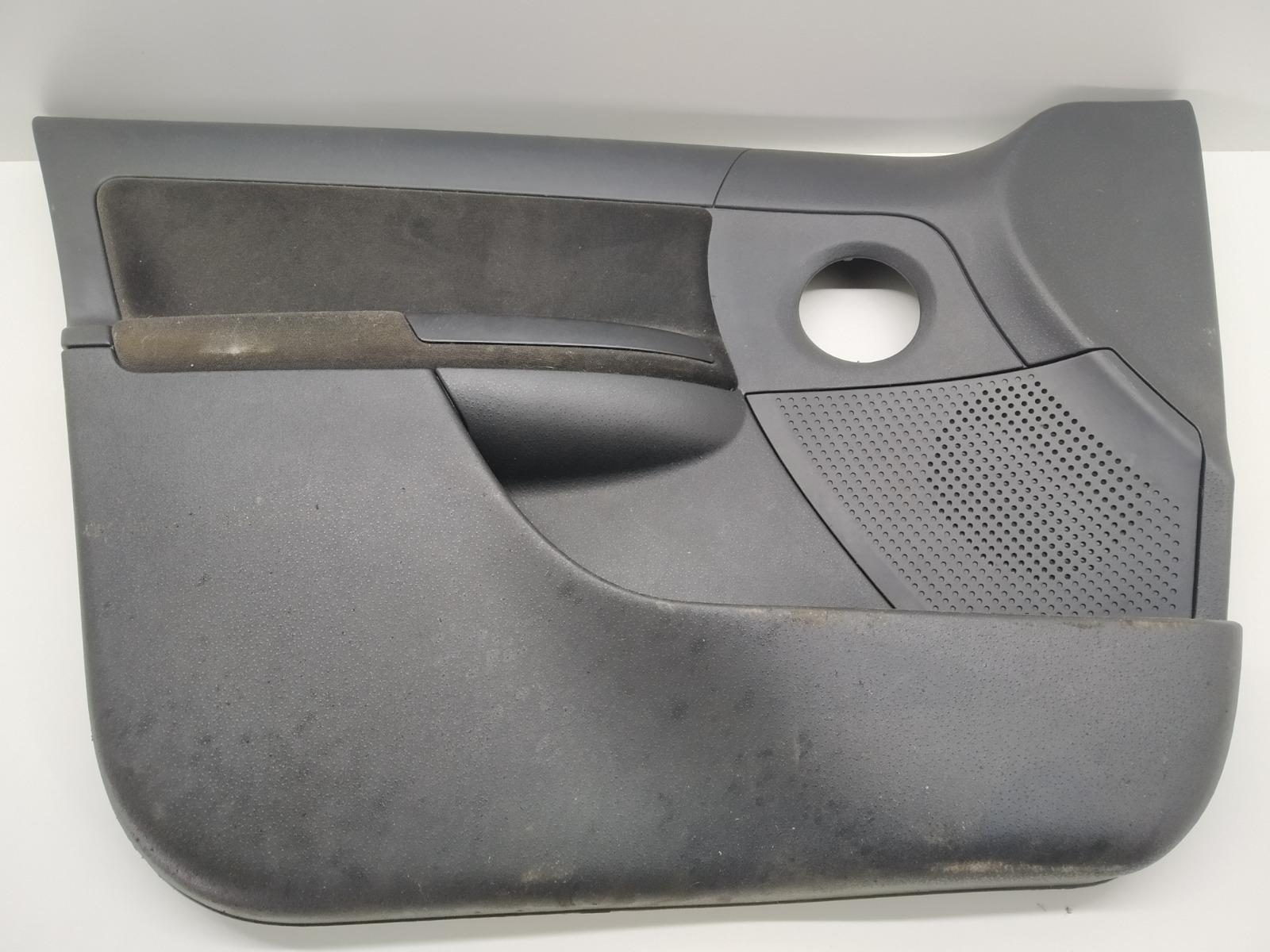 Обшивка двери передней левой (дверная карта) Citroen C3 1.4 I 2008 (б/у)