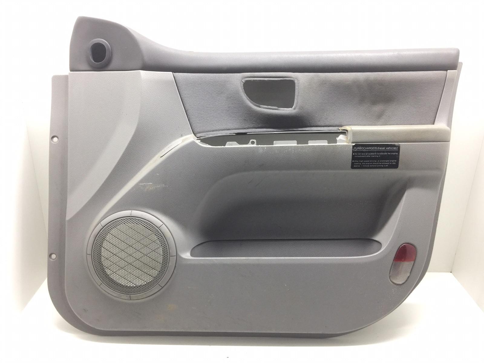 Обшивка двери передней правой (дверная карта) Kia Sorento 2.5 CRDI 2007 (б/у)