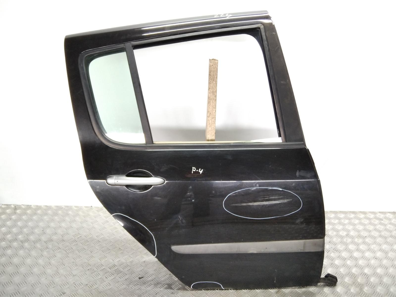 Дверь задняя правая Renault Modus 1.5 DCI 2005 (б/у)