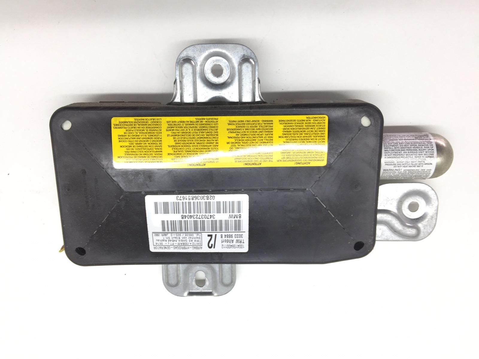 Подушка безопасности боковая (в дверь) Bmw 3 E46 3.0 I 2003 (б/у)