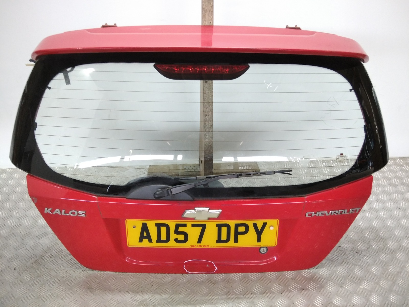Крышка багажника (дверь 3-5) Chevrolet Kalos 1.4 I 2007 (б/у)