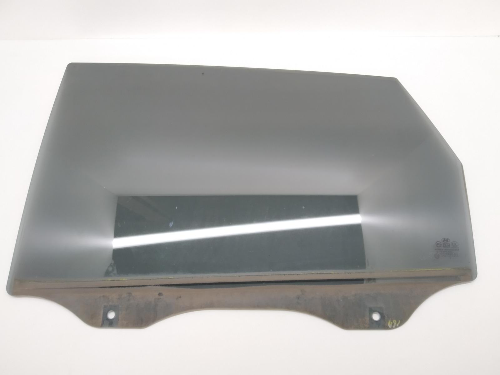 Стекло двери задней левой Hyundai Tucson 2.0 CRDI 2005 (б/у)