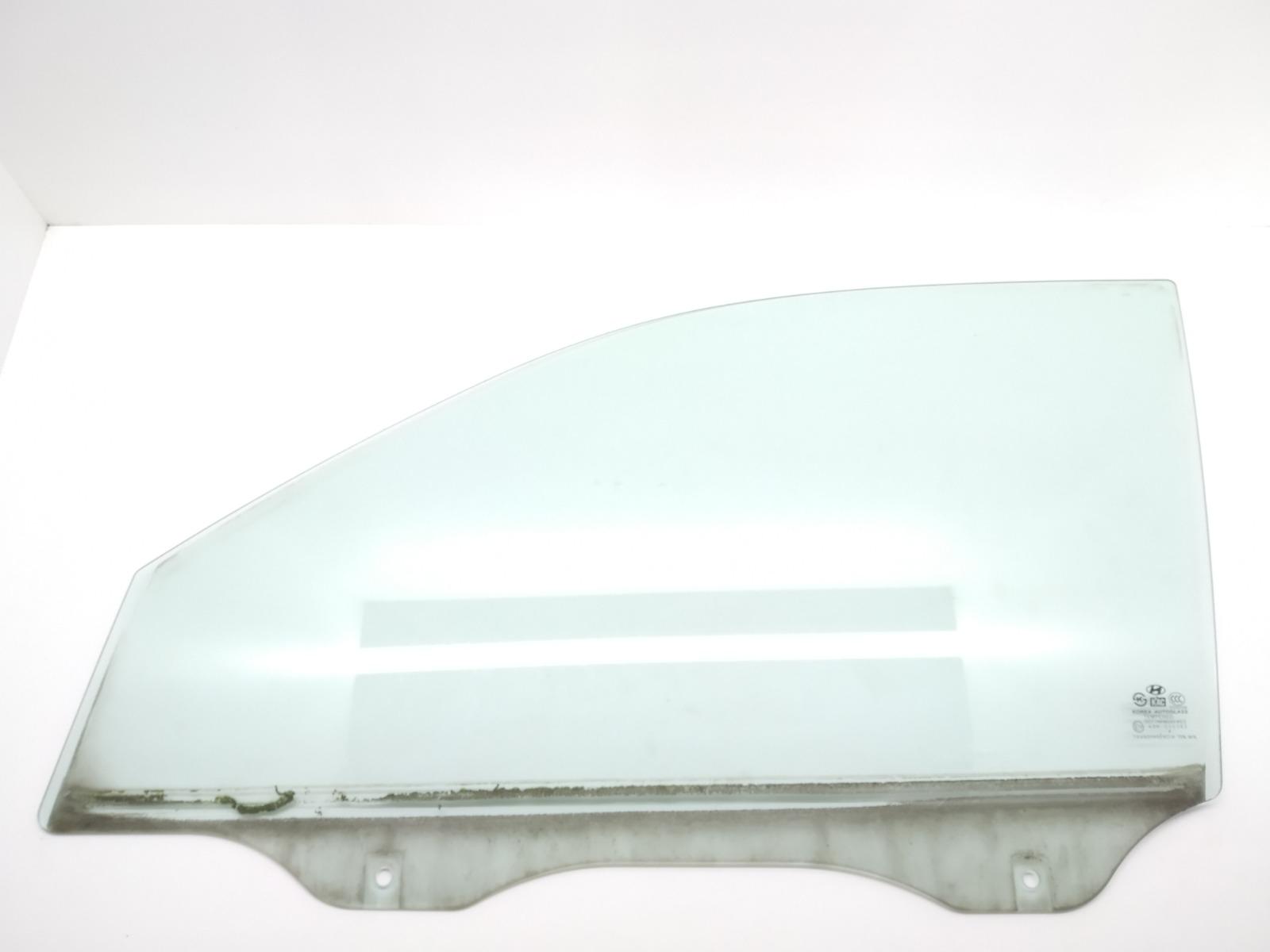 Стекло двери передней левой Hyundai Tucson 2.0 CRDI 2005 (б/у)