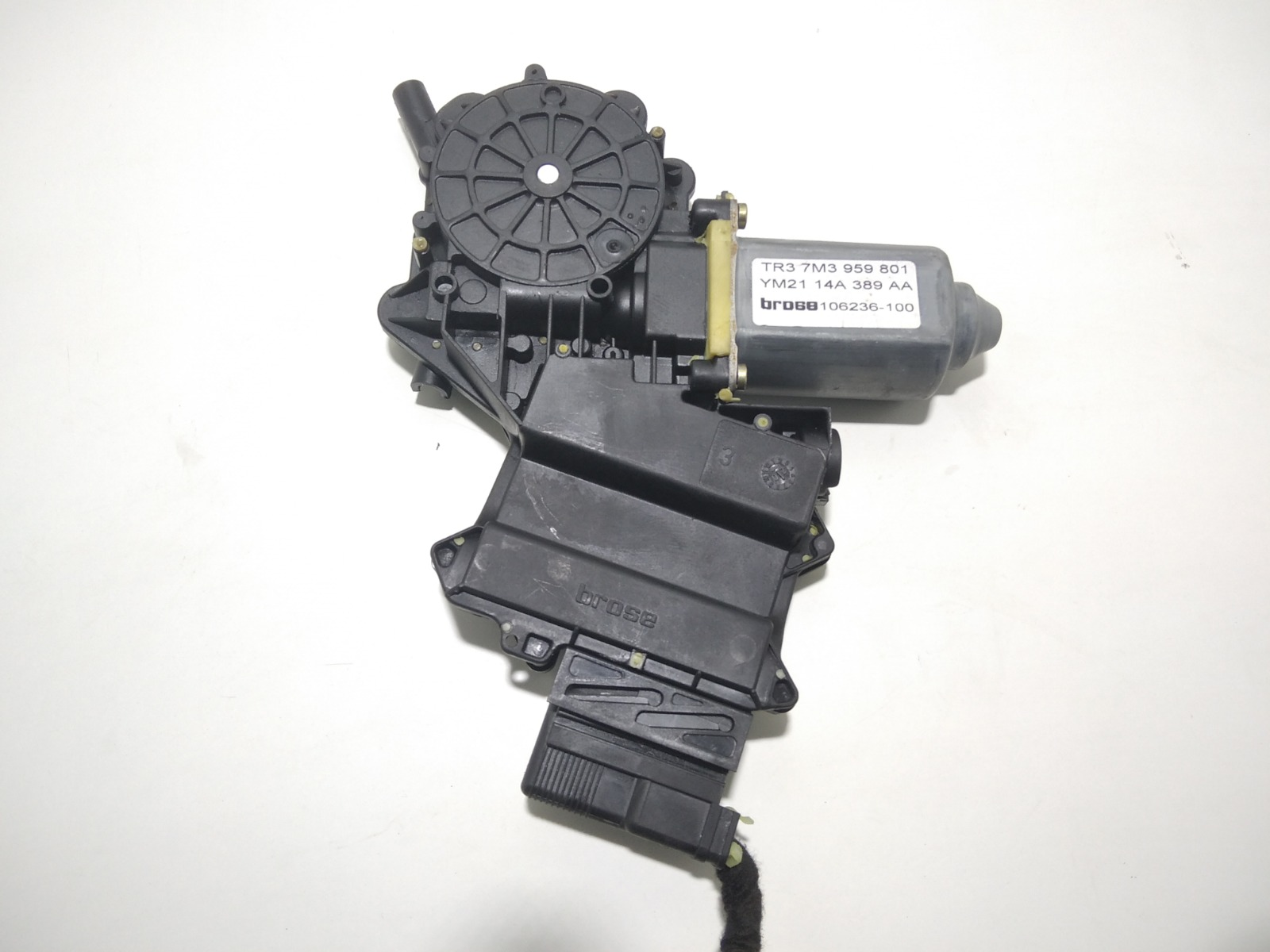 Моторчик стеклоподъемника передний левый Seat Alhambra 1.9 TDI 2002 (б/у)