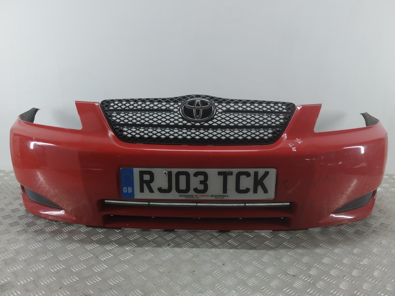 Бампер передний Toyota Corolla 1.4 I 2003 (б/у)