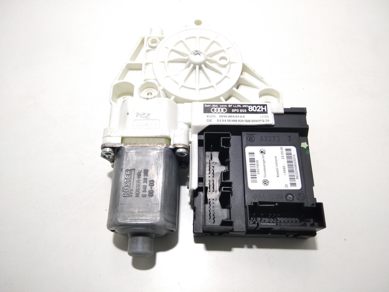 Моторчик стеклоподъемника передний левый Audi A3 8P 1.6 I 2006 (б/у)